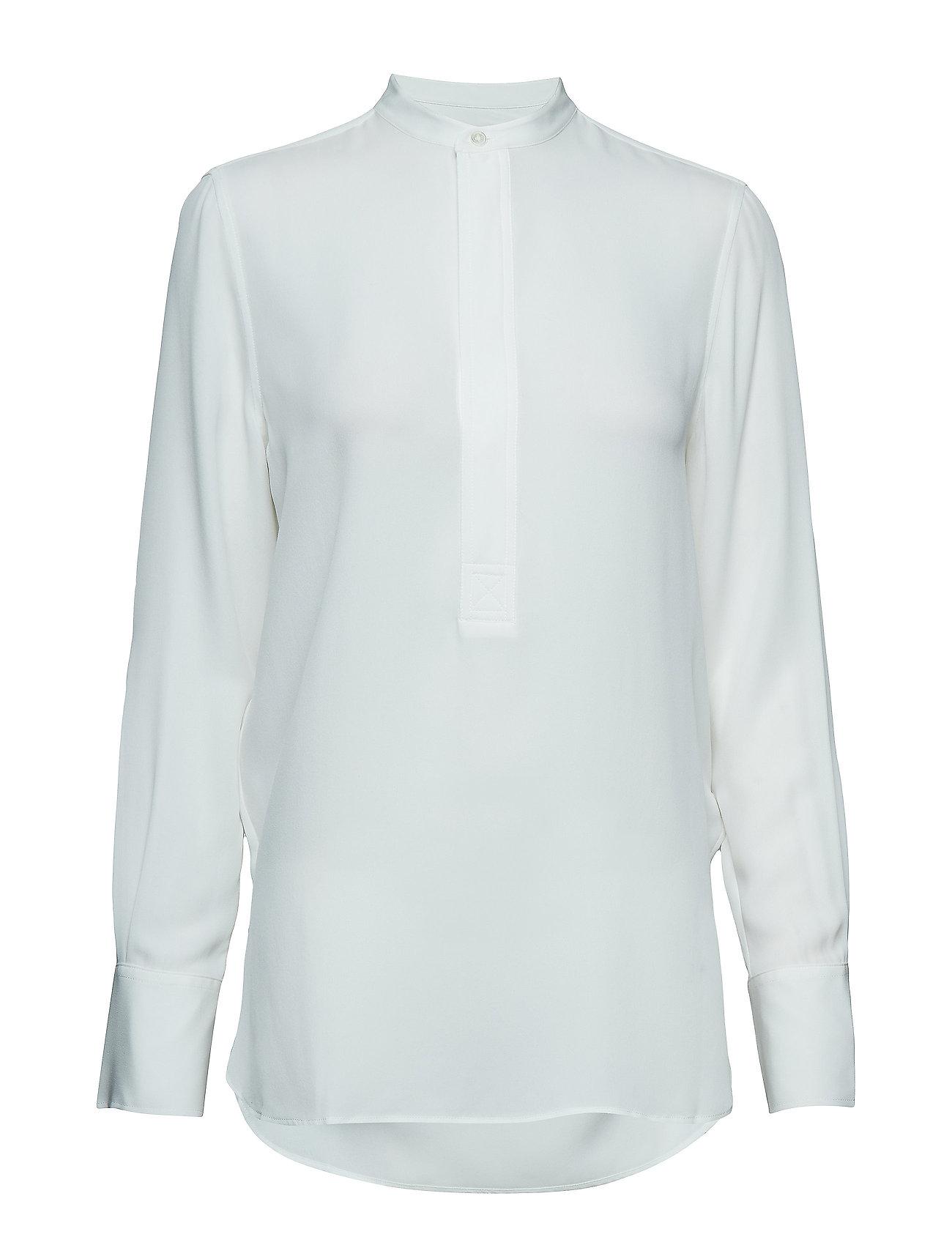 Polo Ralph Lauren Silk Long-Sleeve Blouse