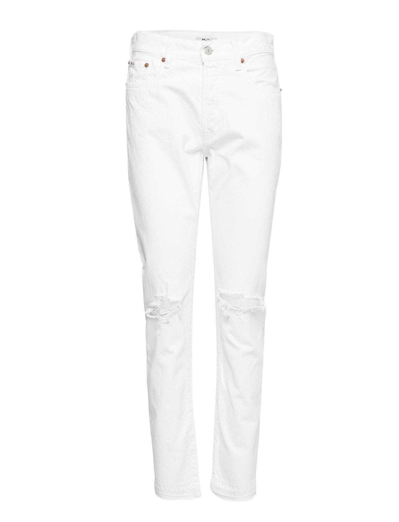 Polo Ralph Lauren The Callen High-Rise Slim Jean - WHITE