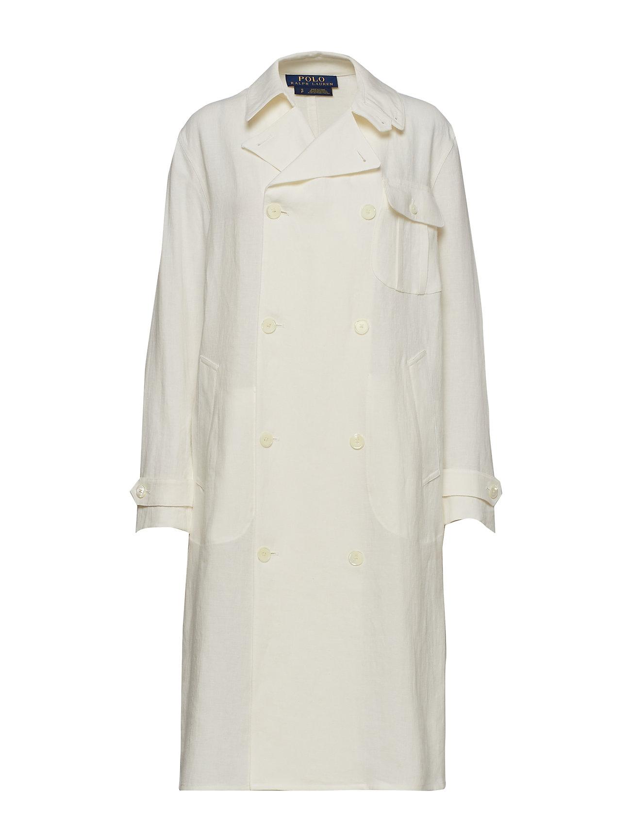 Polo Ralph Lauren Double-Breasted Linen Coat - NEVIS