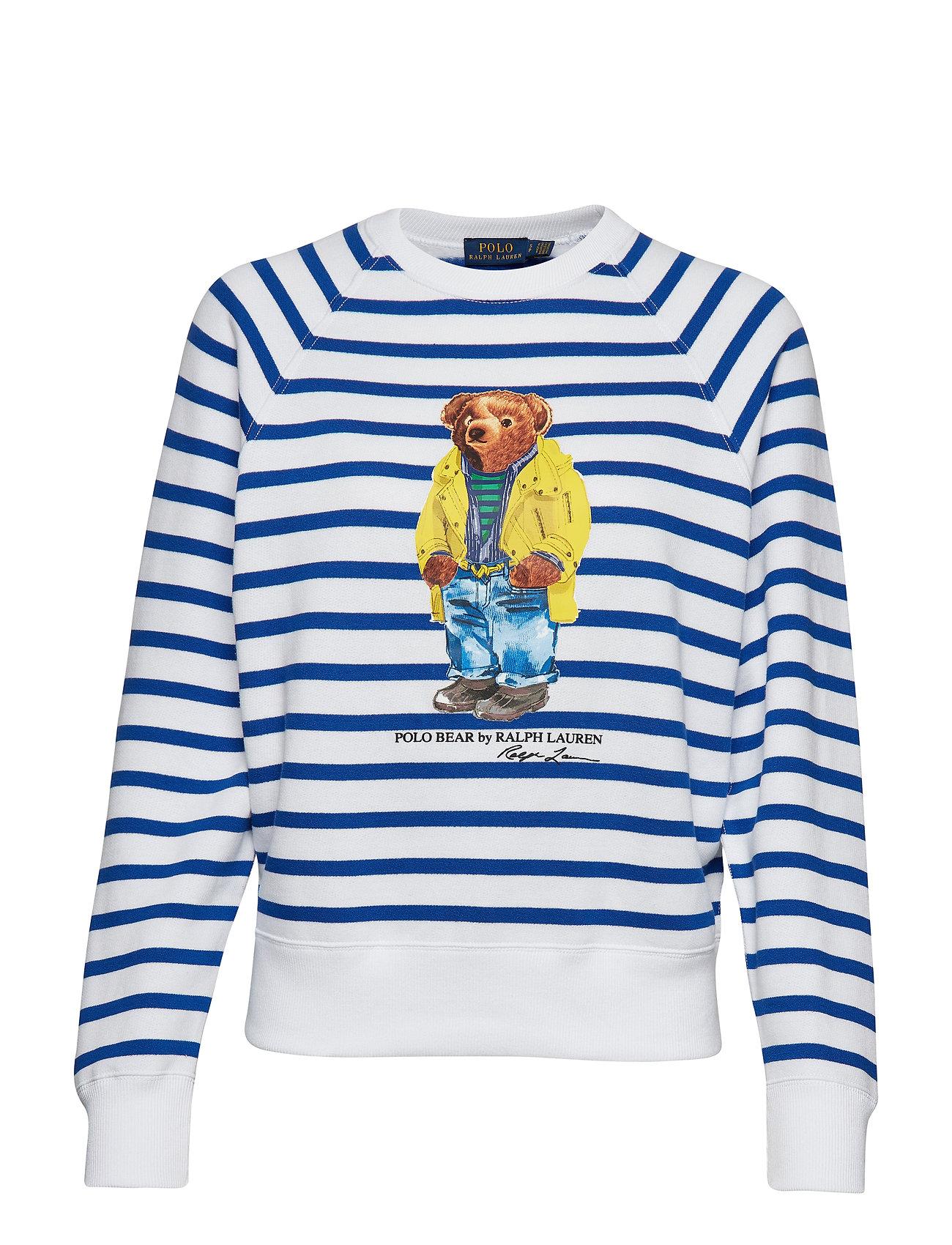 Polo Ralph Lauren Polo Bear Striped Fleece Shirt
