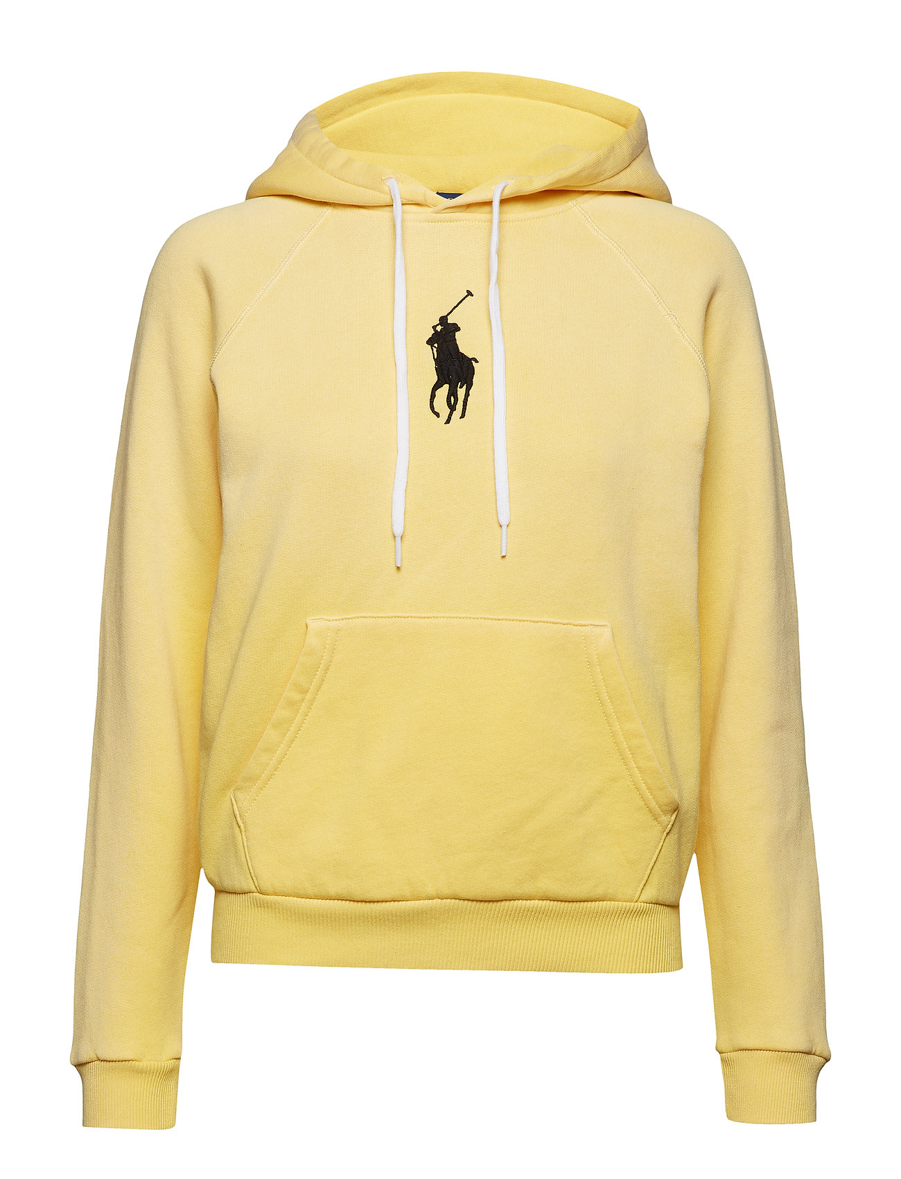 Polo Ralph Lauren Big Pony Fleece Hoodie - FALL YELLOW