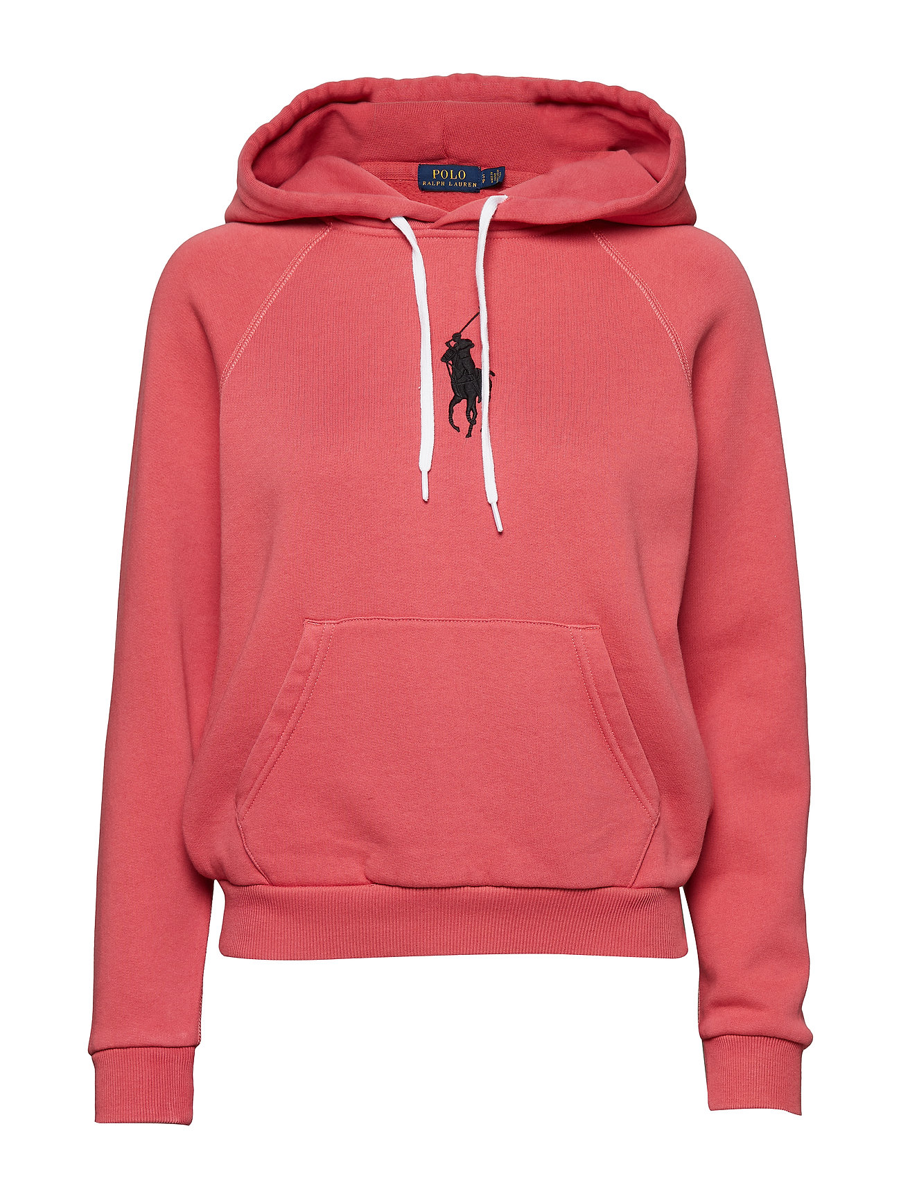 Polo Ralph Lauren Big Pony Fleece Hoodie - NANTUCKET RED