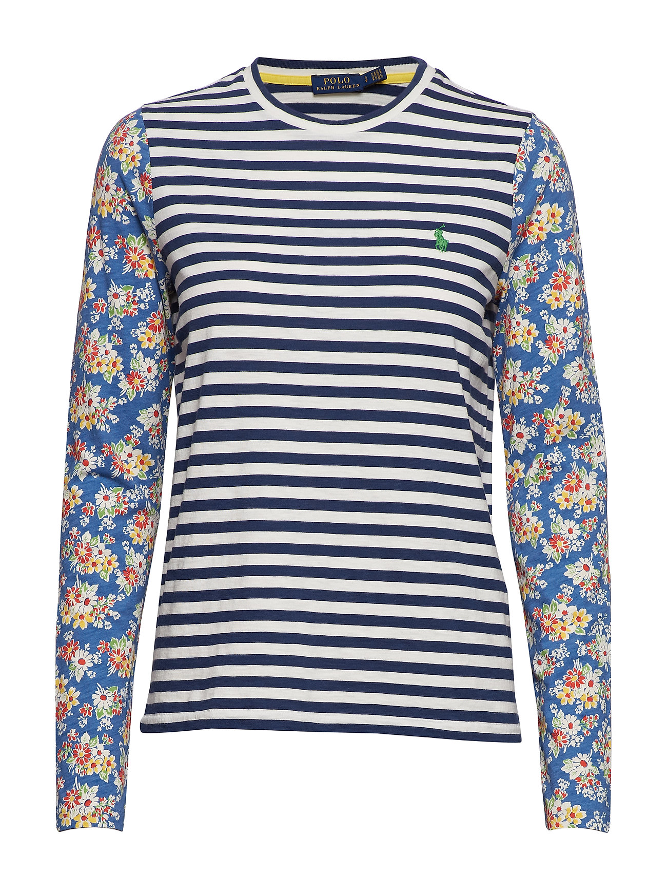 Polo Ralph Lauren Print Cotton Long-Sleeve Tee