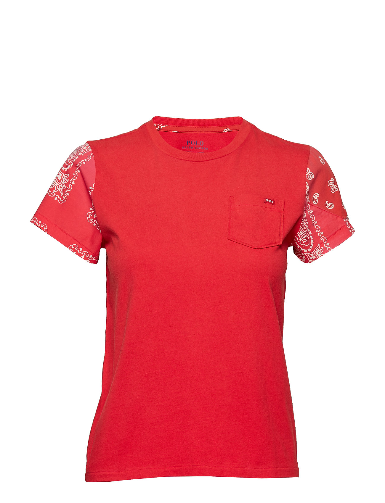 Polo Ralph Lauren Cotton Bandanna-Sleeve Tee