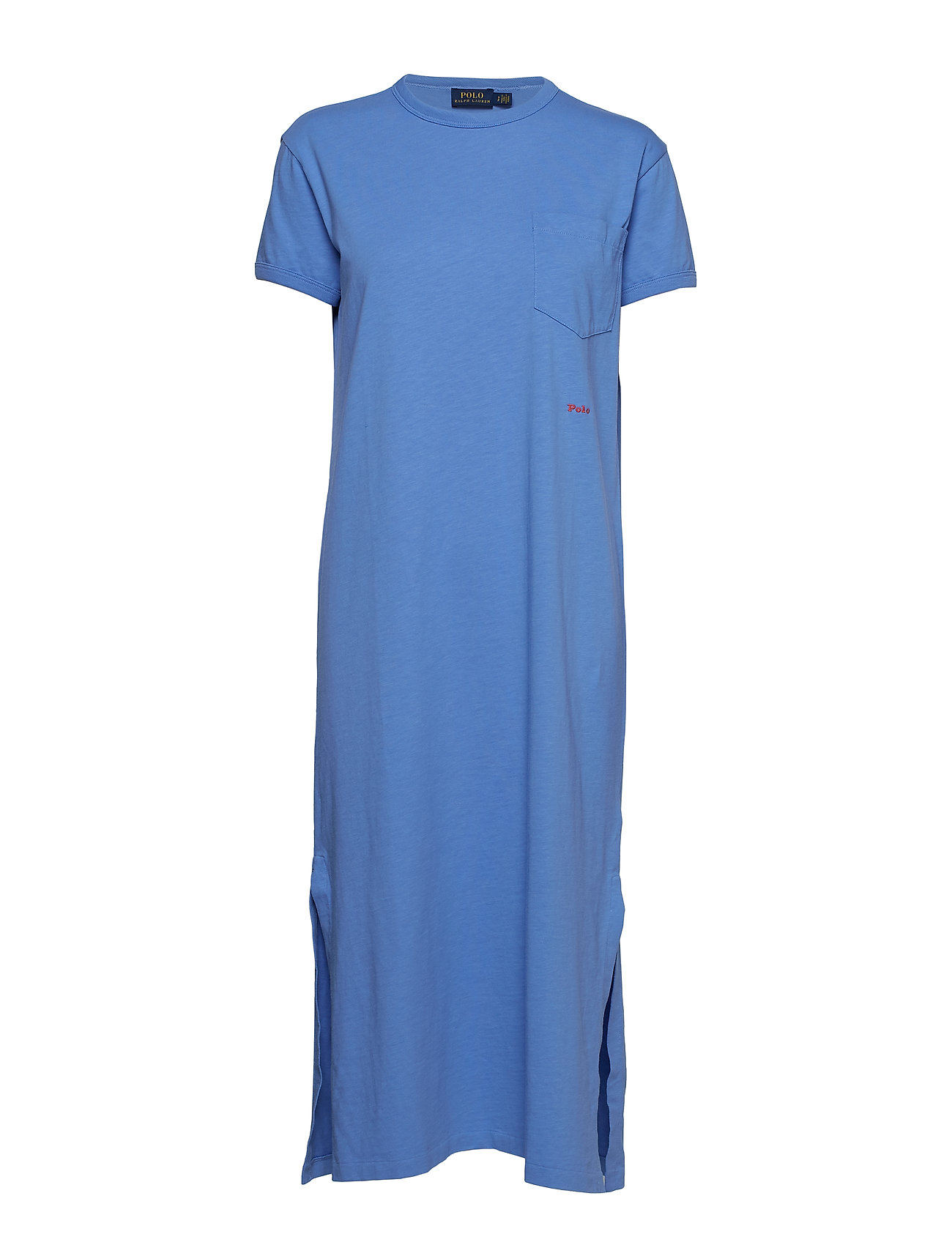Polo Ralph Lauren Cotton T-Shirt Dress - LAKE BLUE
