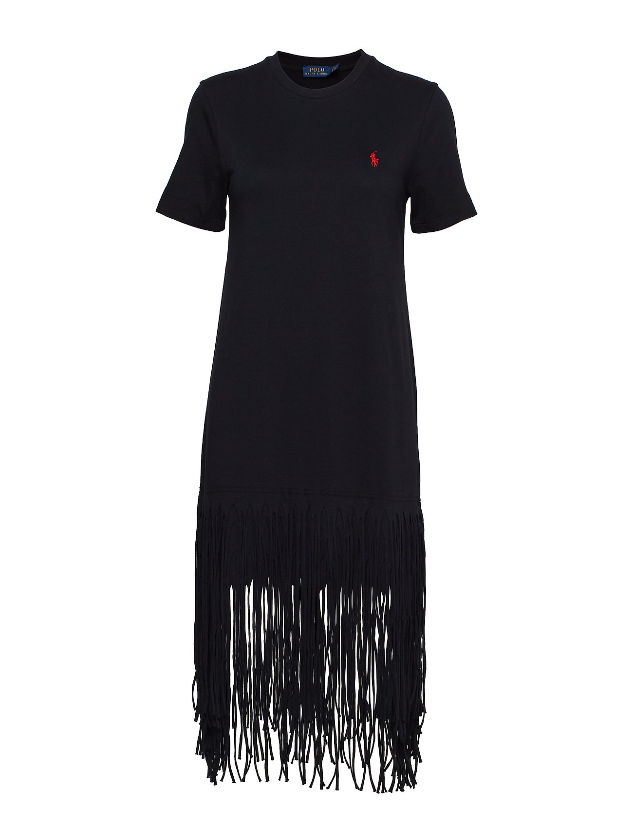 Polo Ralph Lauren Fringe Cotton Shirtdress