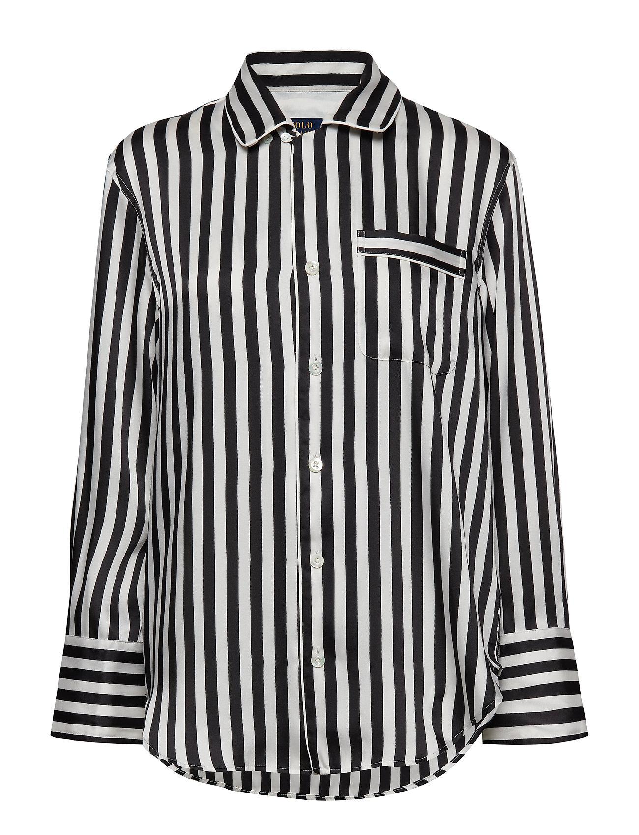 Polo Ralph Lauren Striped Button-Down Shirt - POLO BLACK/TROPHY