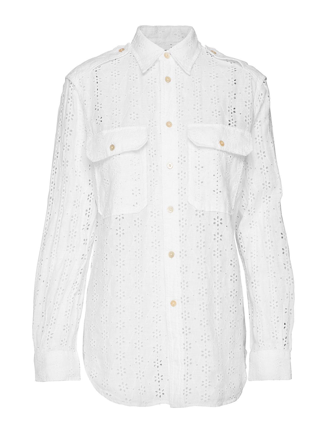 Polo Ralph Lauren Eyelet Linen Shirt