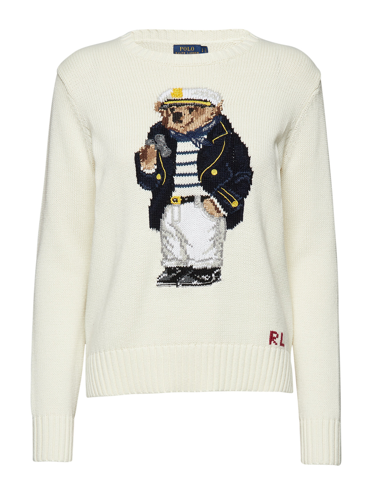 Sweater Polo Sweater Cotton Bear Polo Cotton Bear SMqUpzV