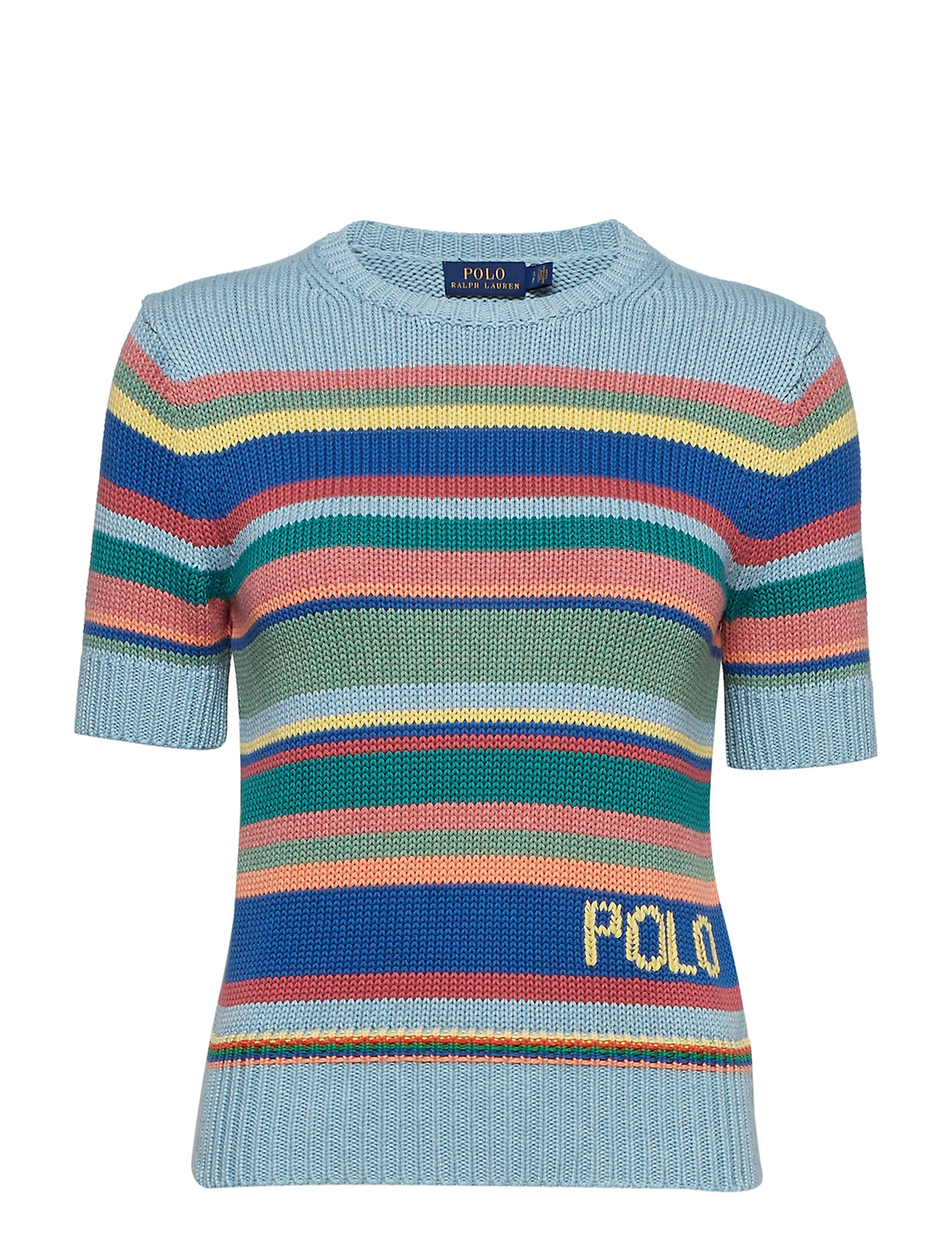 Polo Ralph Lauren Striped Short-Sleeve Jumper
