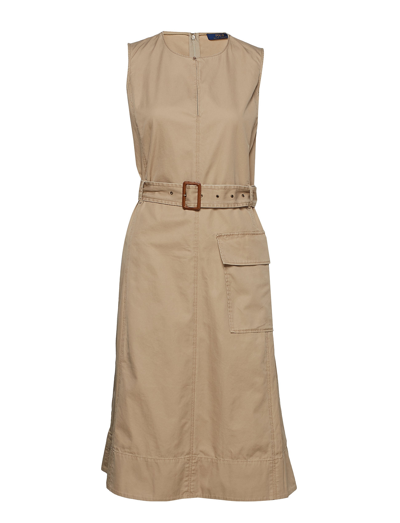 Polo Ralph Lauren Chino Belted Sleeveless Dress
