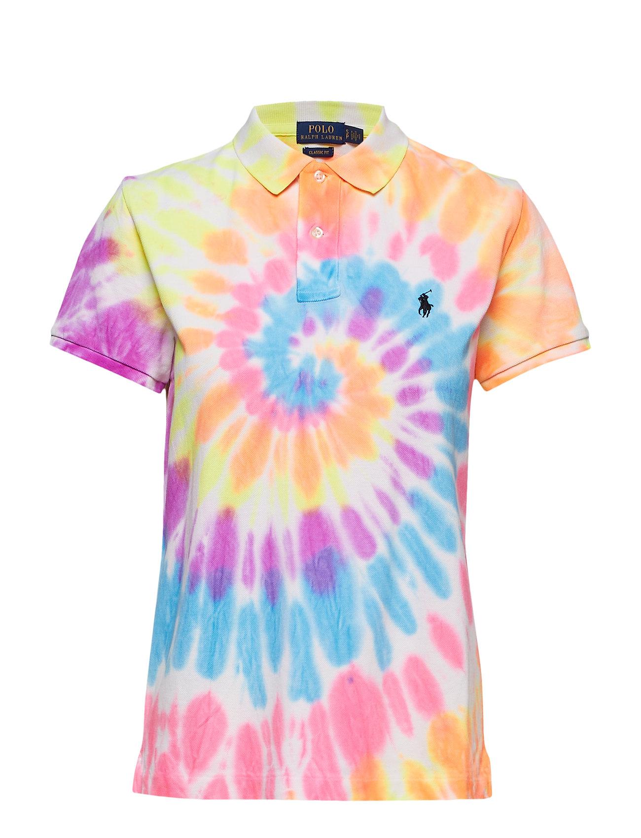 ac604eab Classic Fit Tie-dye Polo Shirt (Spiral Tie Dye) (£74.75) - Polo ...