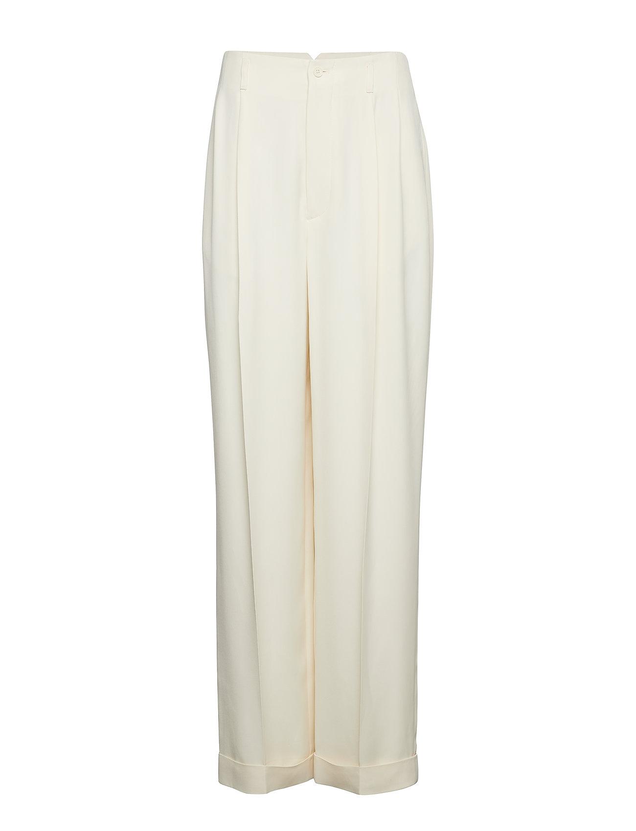 Polo Ralph Lauren Twill Wide-Leg Pant - GUIDE CREAM