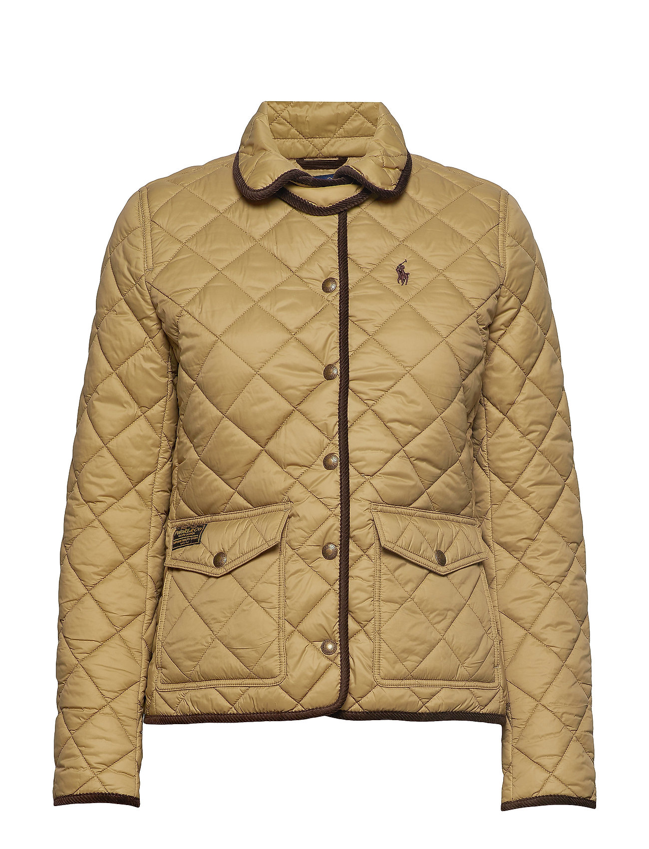 Polo Ralph Lauren Quilted Jacket - DESERT TAN