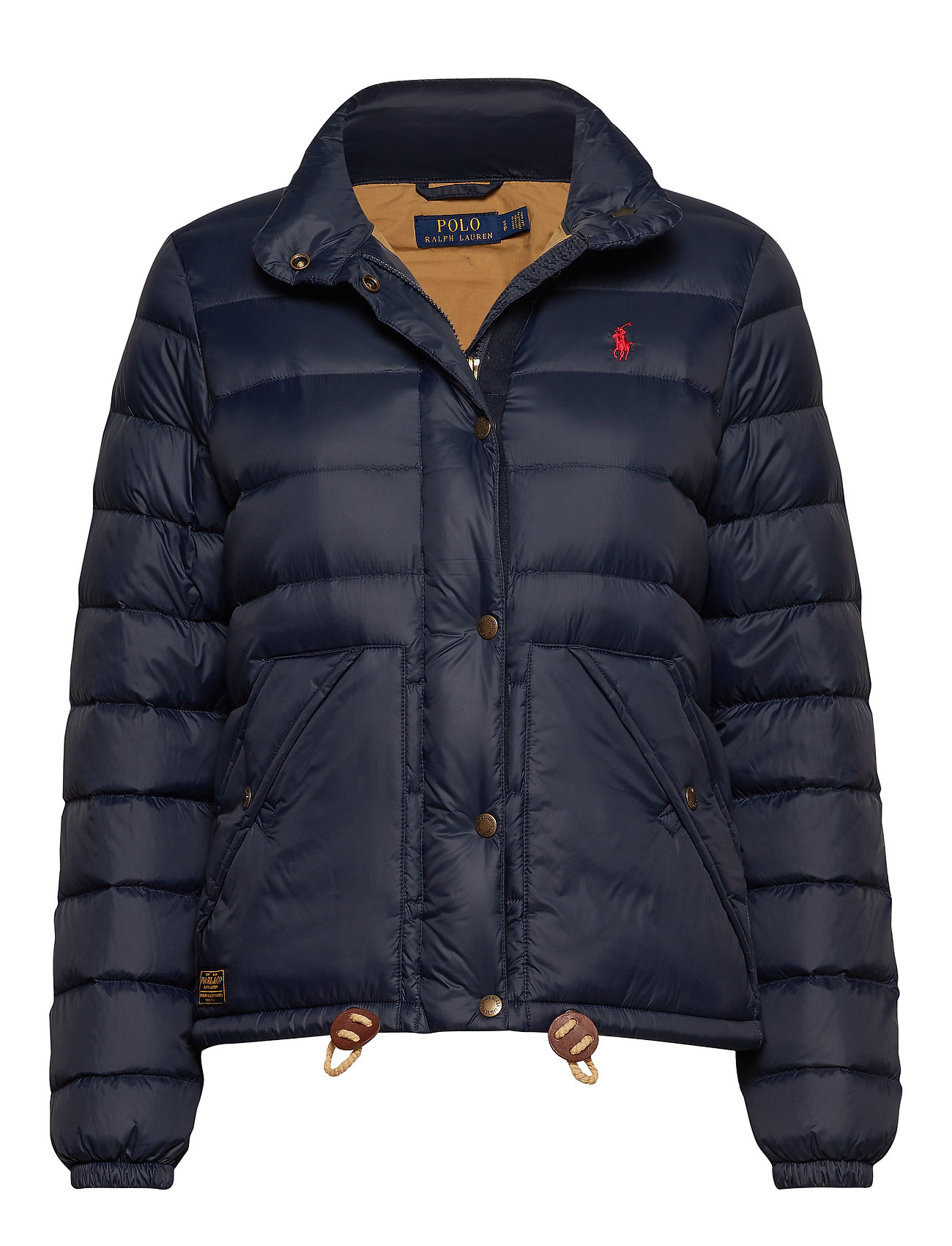 Polo Ralph Lauren Quilted Down Jacket - AVIATOR NAVY