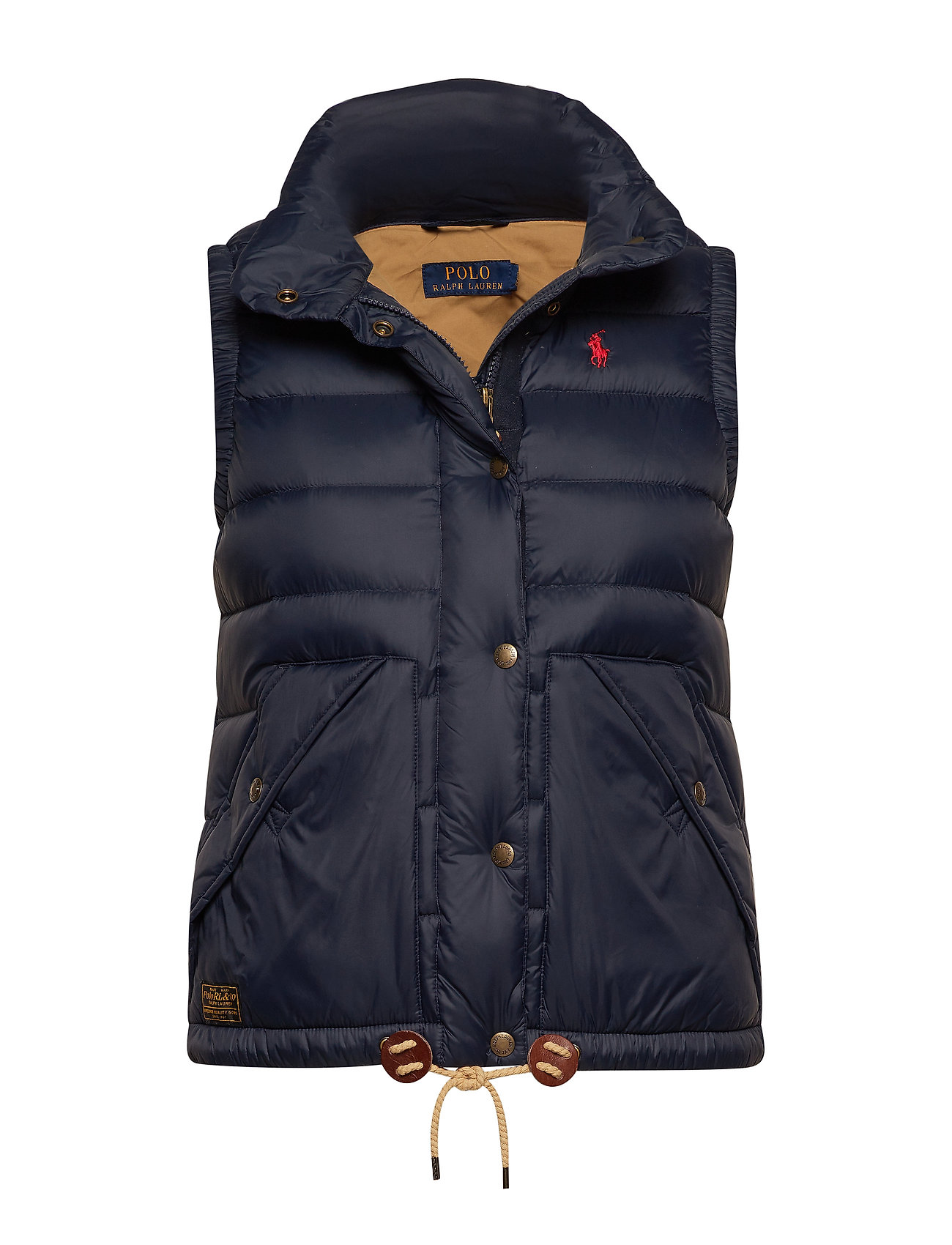 Polo Ralph Lauren Nylon Down Vest - AVIATOR NAVY