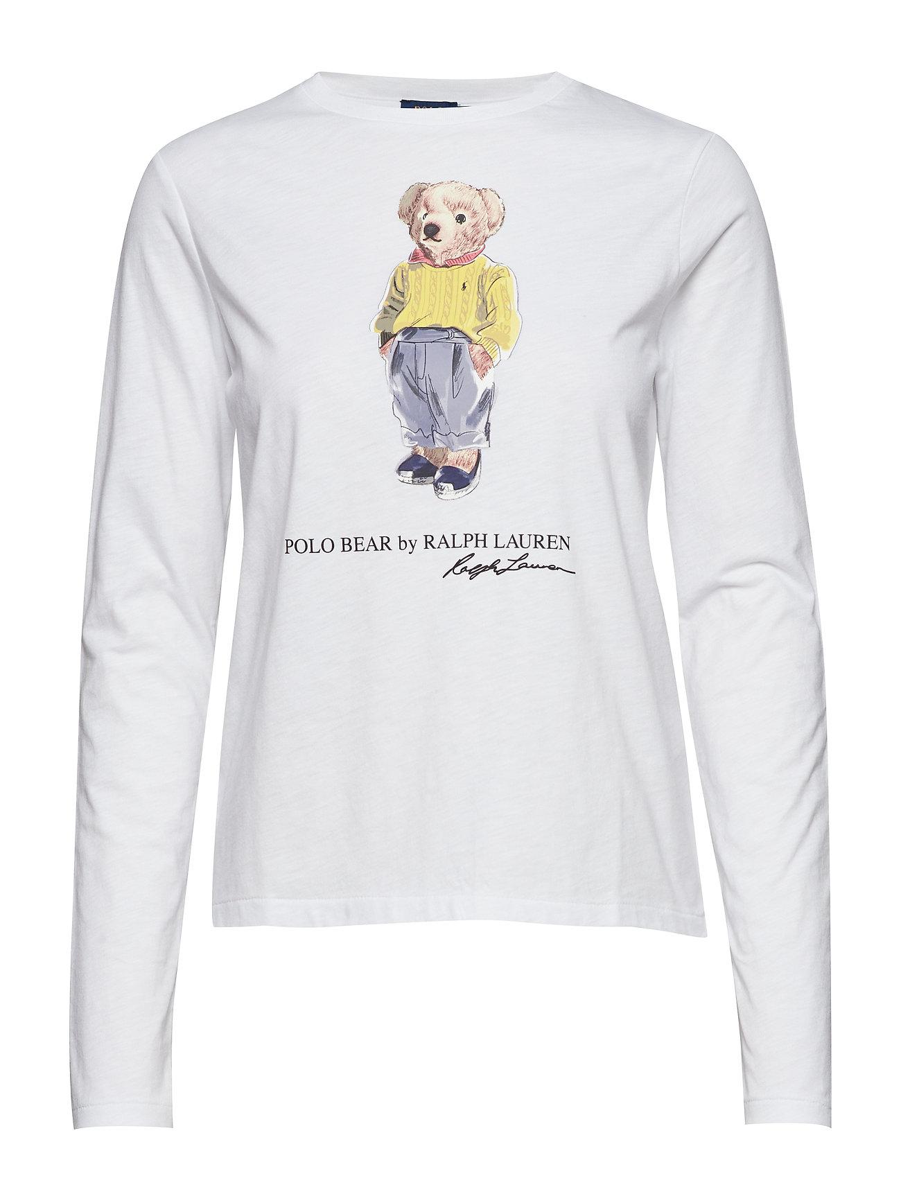 Polo Ralph Lauren 30 1'S UNVN GZE JSY-LSL-KNT - WHITE