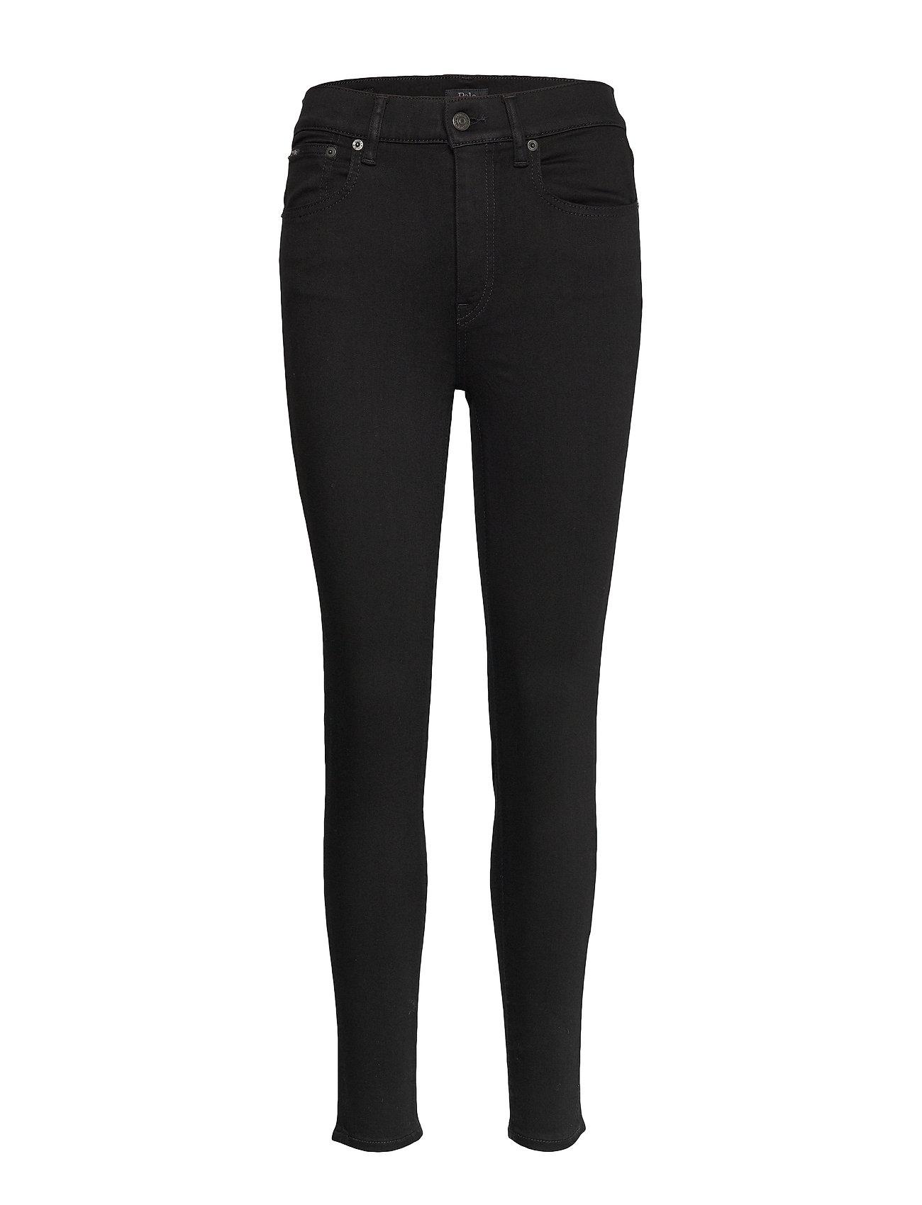 Polo Ralph Lauren Tompkins Skinny High-Rise Jean - BLACK