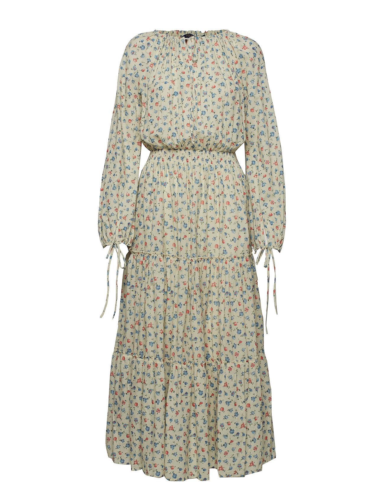 Polo Ralph Lauren Floral Gauze Dress - DITSY DAISY FLORA