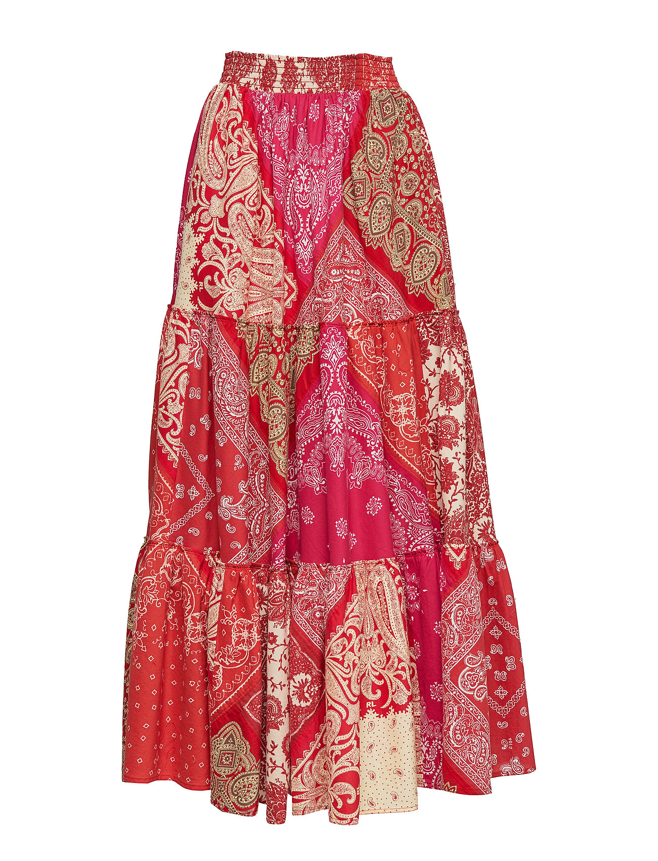 Polo Ralph Lauren Bandanna-Print Maxiskirt - RED BANDANA PRINT