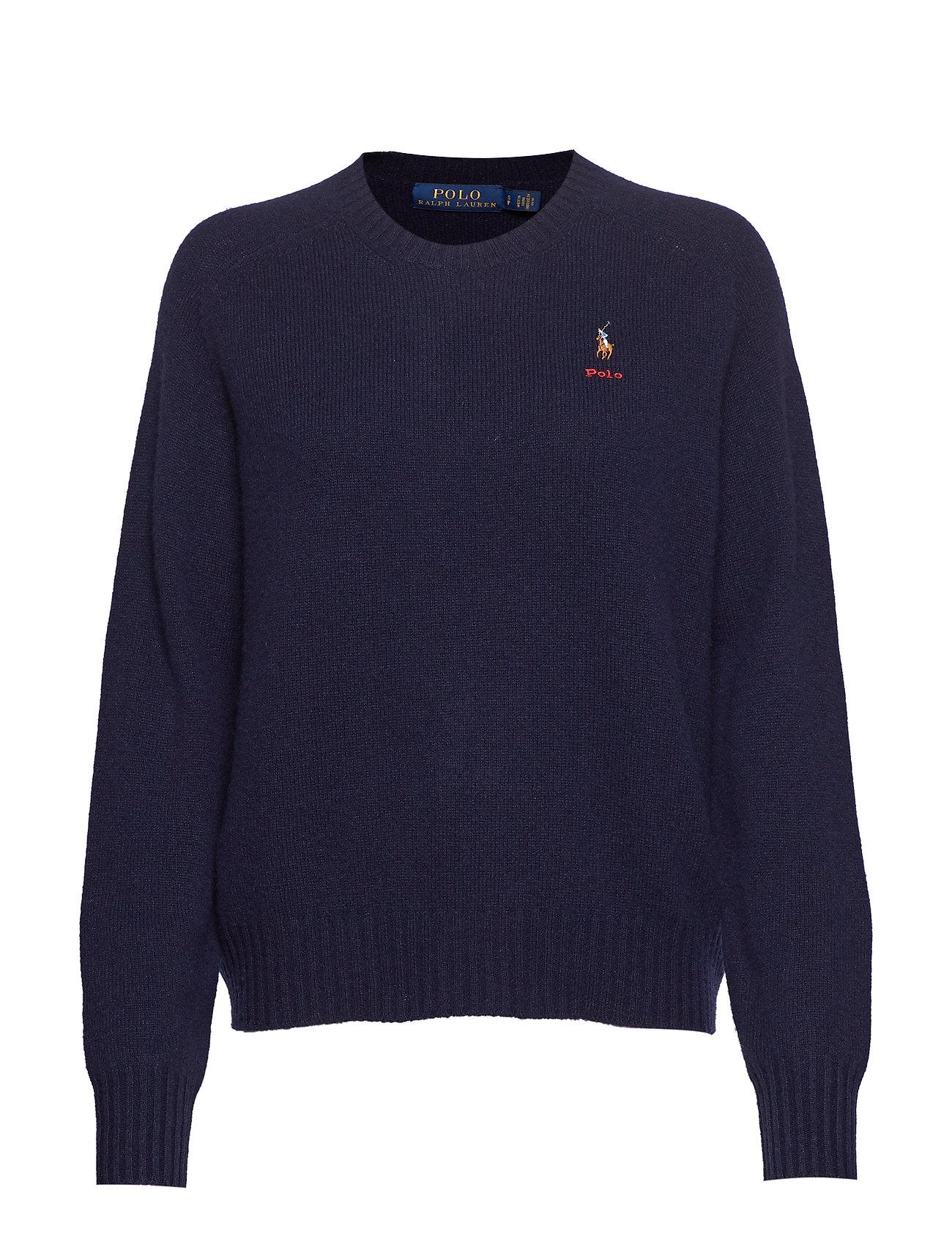 Polo Ralph Lauren Wool Crewneck Sweater - HUNTER NAVY