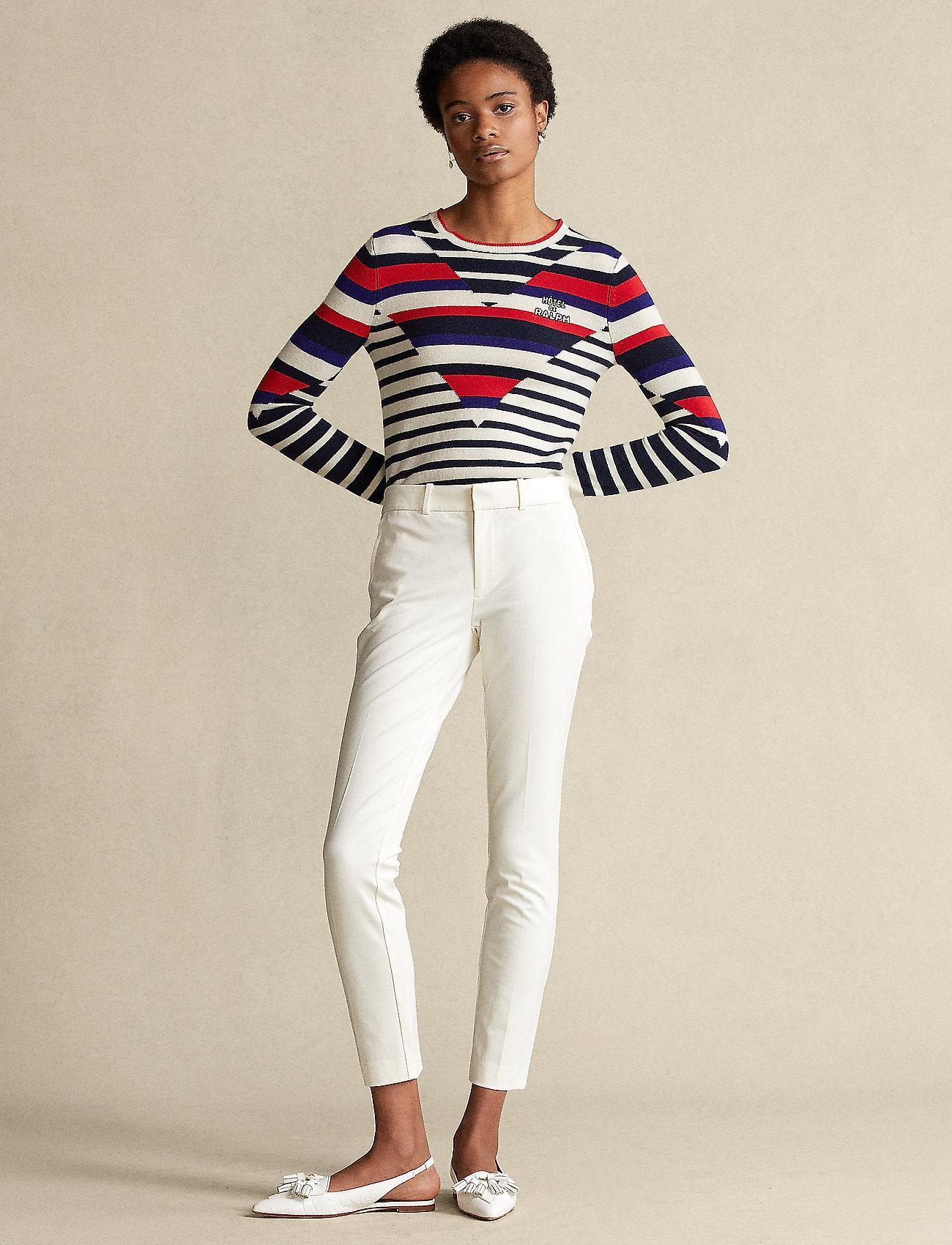 Polo Ralph Lauren - Bi-Stretch Twill Pant - slim fit bukser - warm white - 0