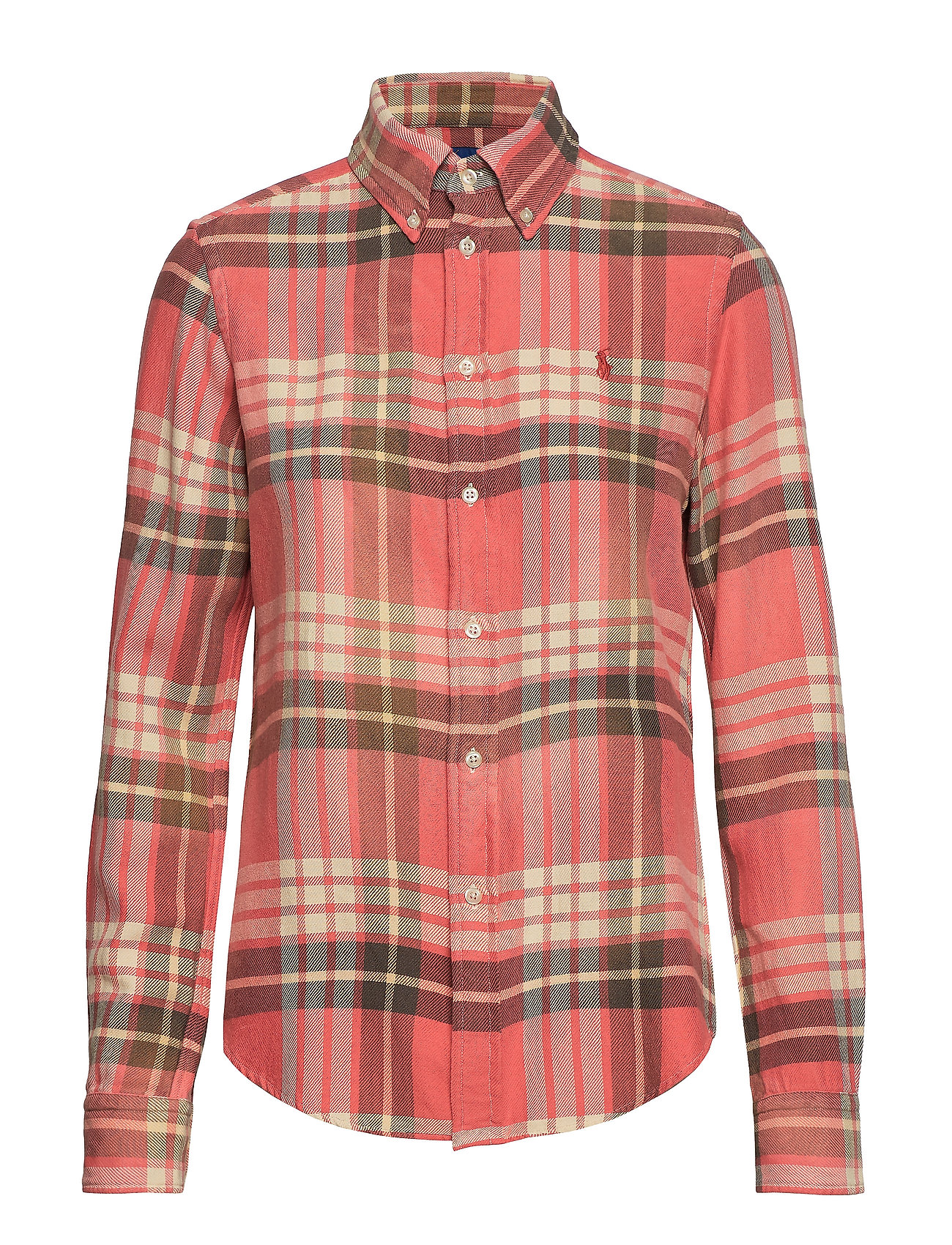 Polo Ralph Lauren Classic Fit Plaid Shirt - 206 RED/NAVY