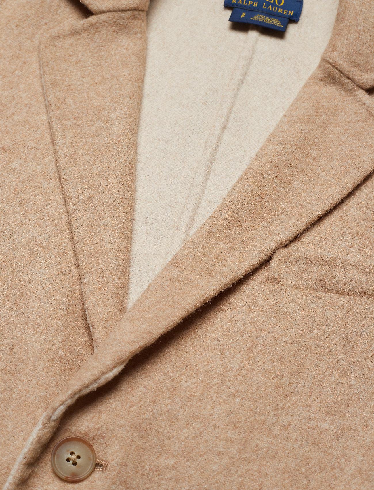 Wool-blend Peacoat (Wrm Brw Hthr/ex D) (2239.60 kr) - Polo Ralph Lauren