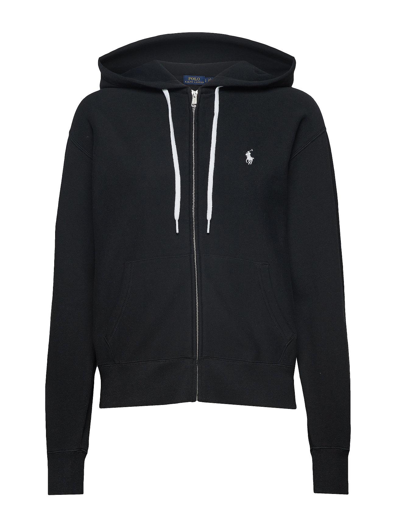 Full Hoodiepolo Fleece zip Ralph Lauren BlackPolo JFlK1cT3