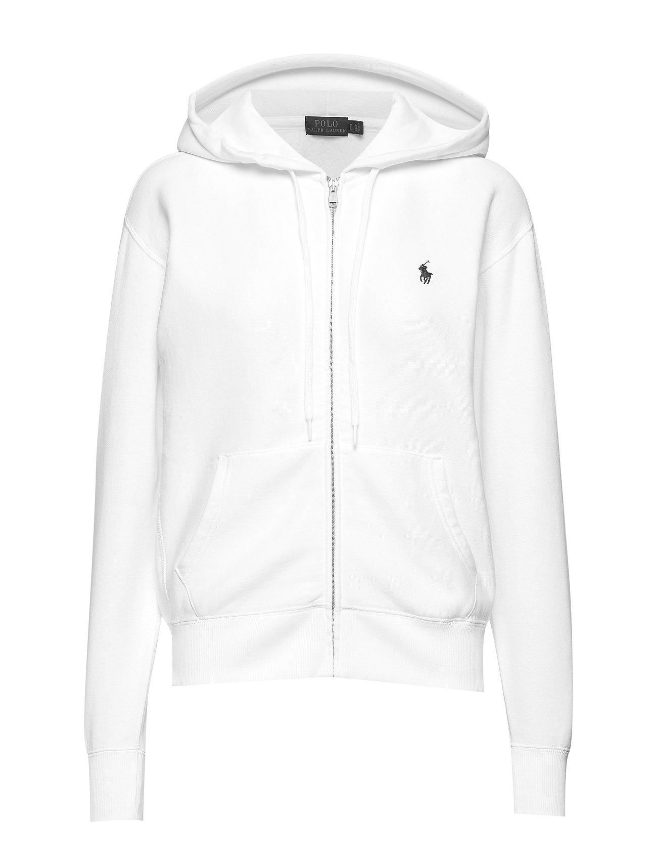 Polo Ralph Lauren Fleece Full-Zip Hoodie - WHITE