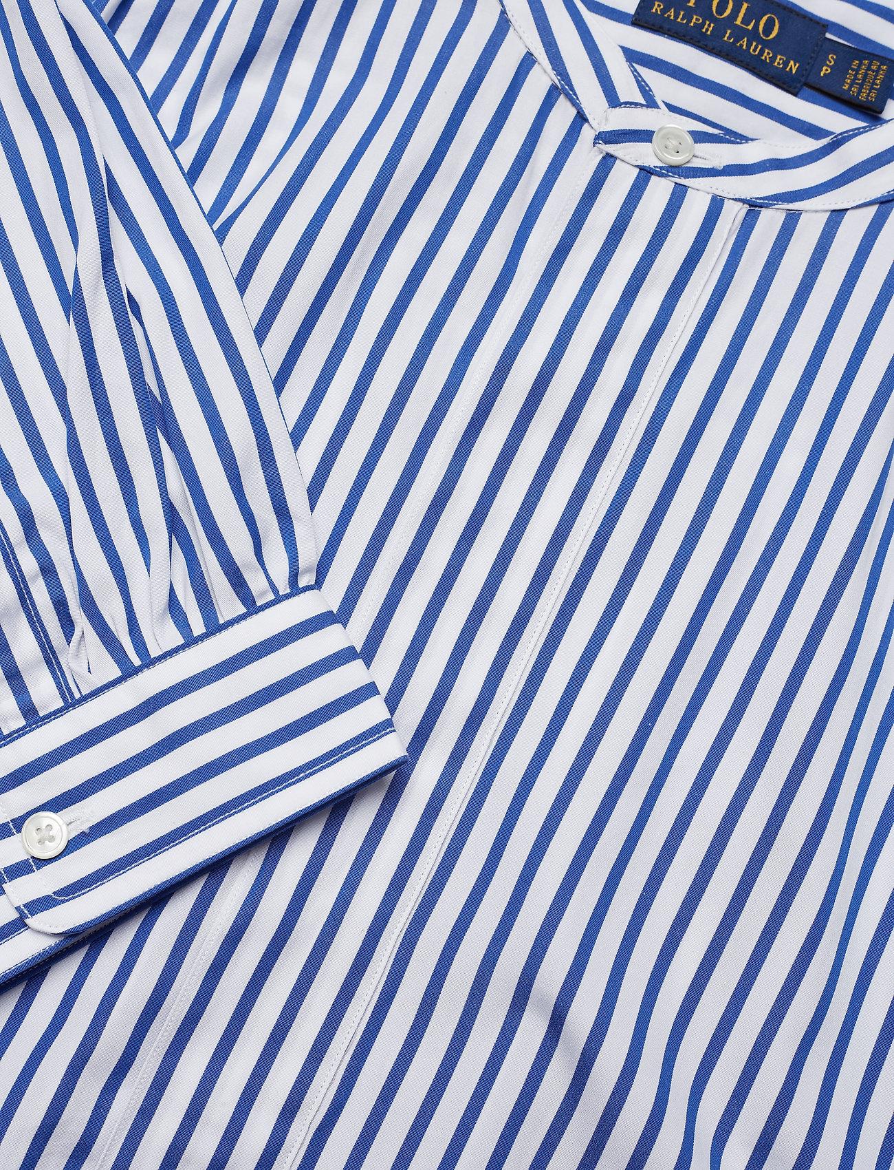 Striped Cotton Shirt (814 Blue/white) (479.60 kr) - Polo Ralph Lauren