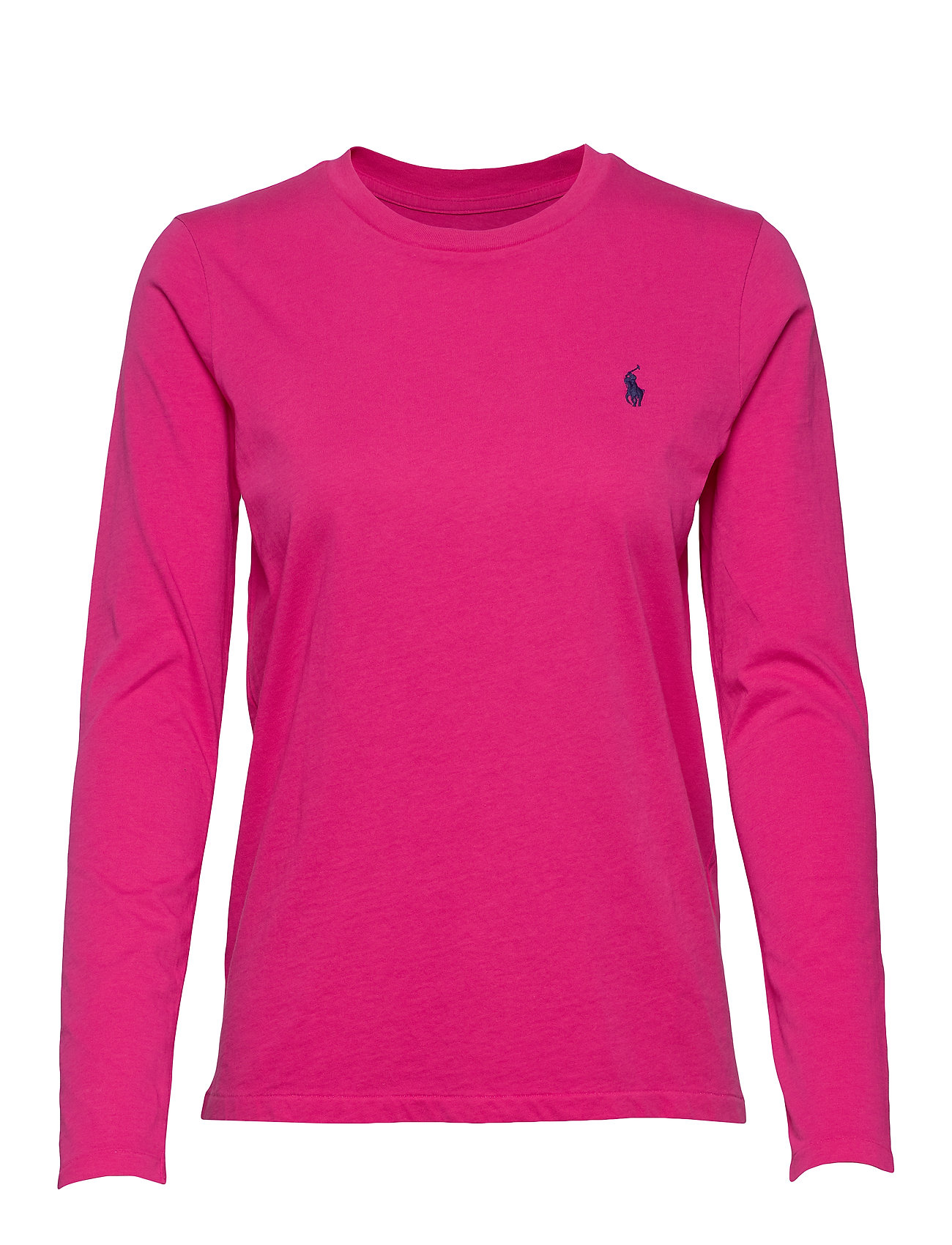 Polo Ralph Lauren Jersey Long-Sleeve Shirt - ACCENT PINK