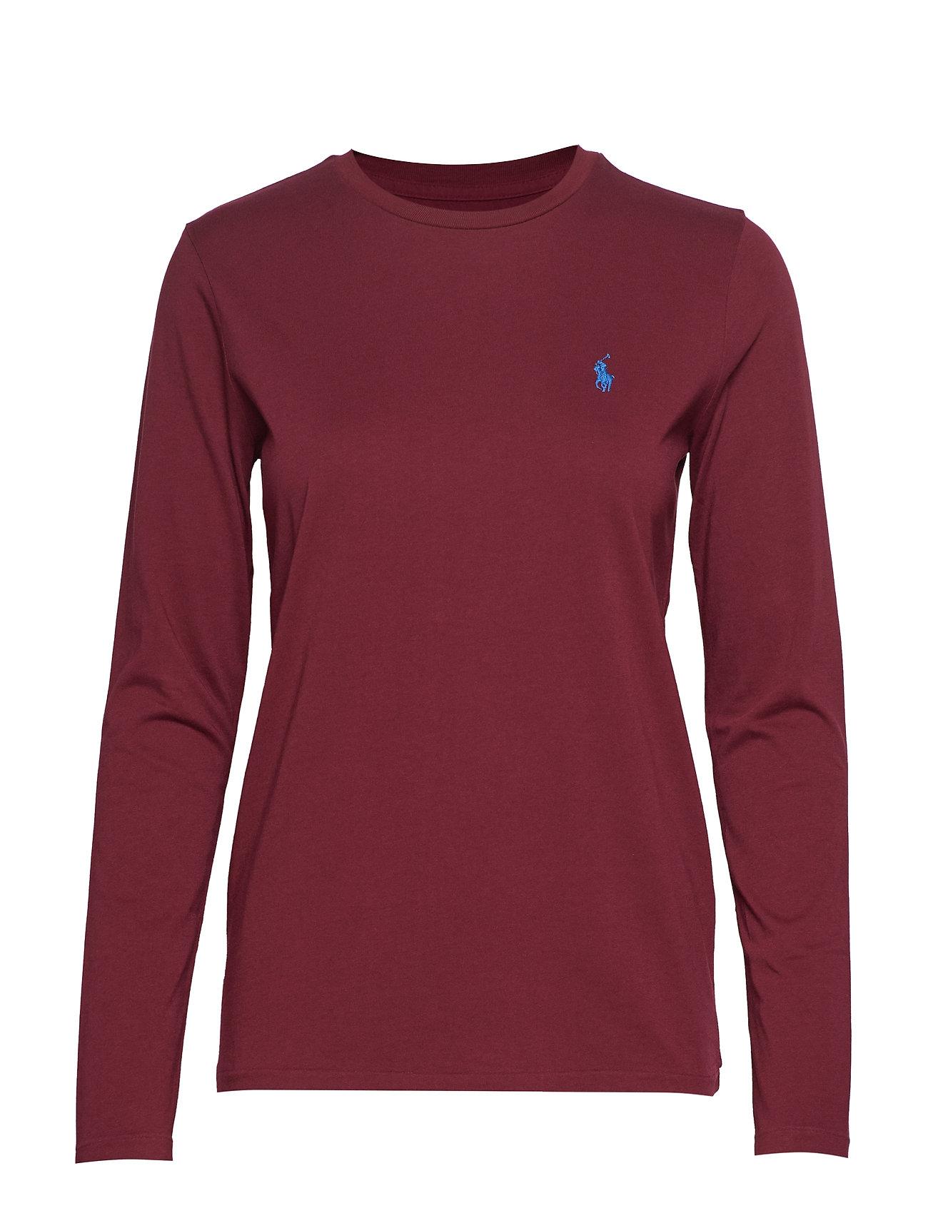 Polo Ralph Lauren Jersey Long-Sleeve Shirt - CLASSIC WINE