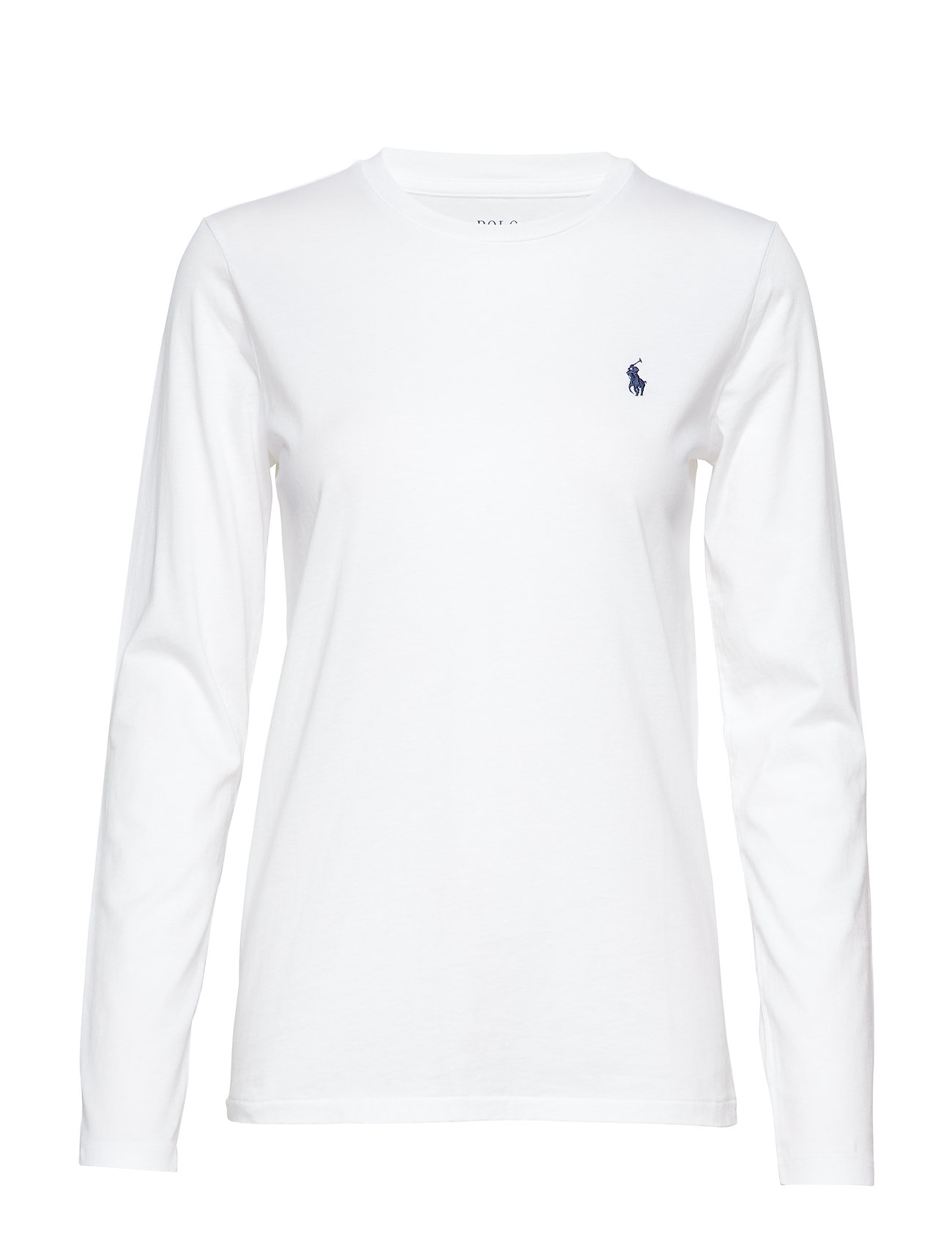 Polo Ralph Lauren Jersey Long-Sleeve Shirt - WHITE