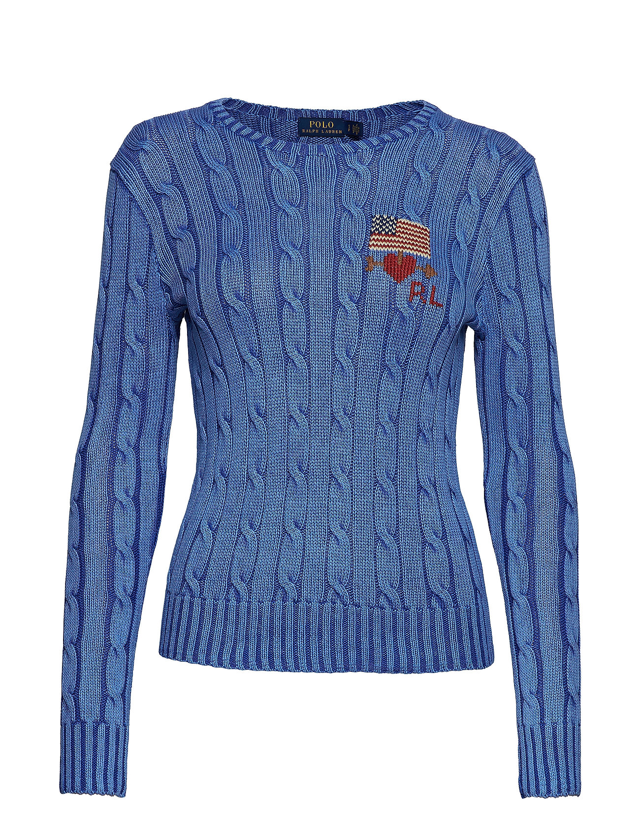 Cable BluePolo Sweatermaidstone Needlepoint knit Ralph Lauren 9DH2EWI