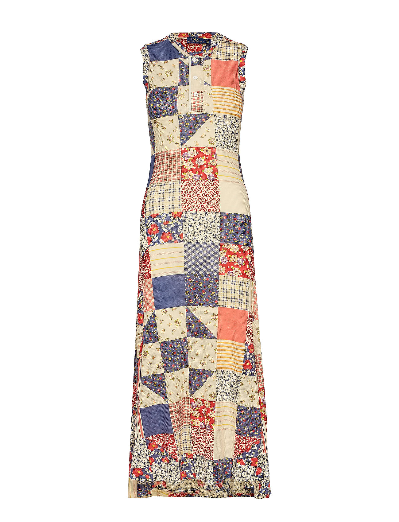 acb0d1f361 Patchwork Sleeveless Dress