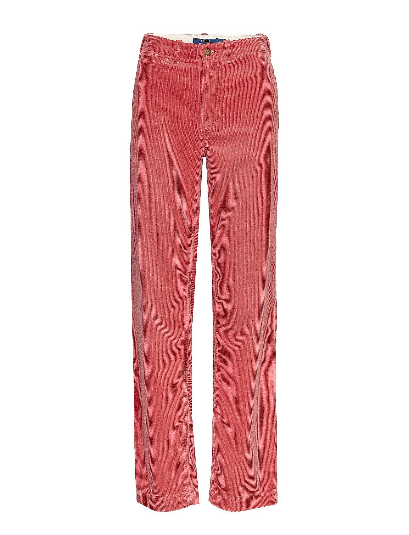 Polo Ralph Lauren Cotton Corduroy Straight Pant - DESERT ROSE
