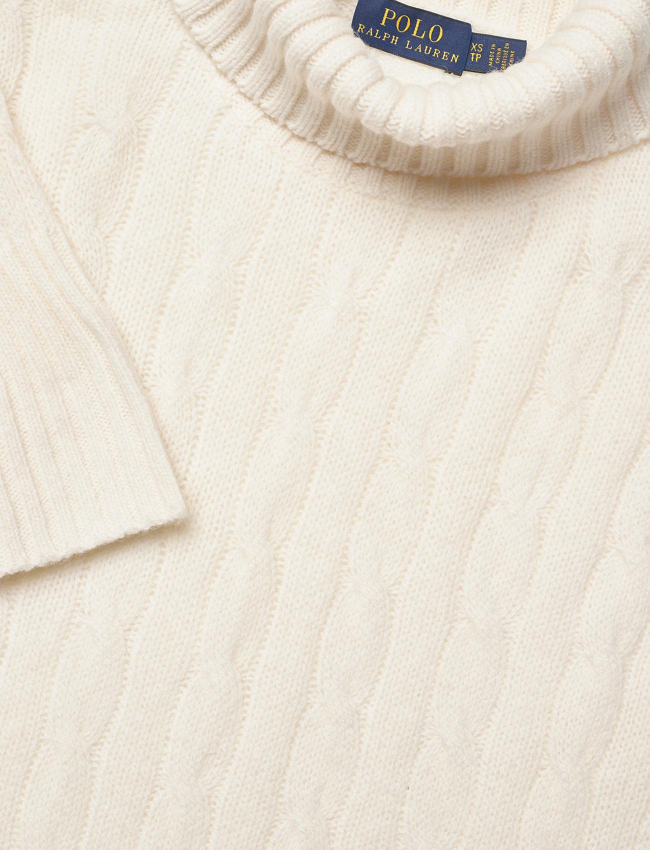 Cable-knit Turtleneck Sweater (Cream) (906.95 kr) - Polo Ralph Lauren