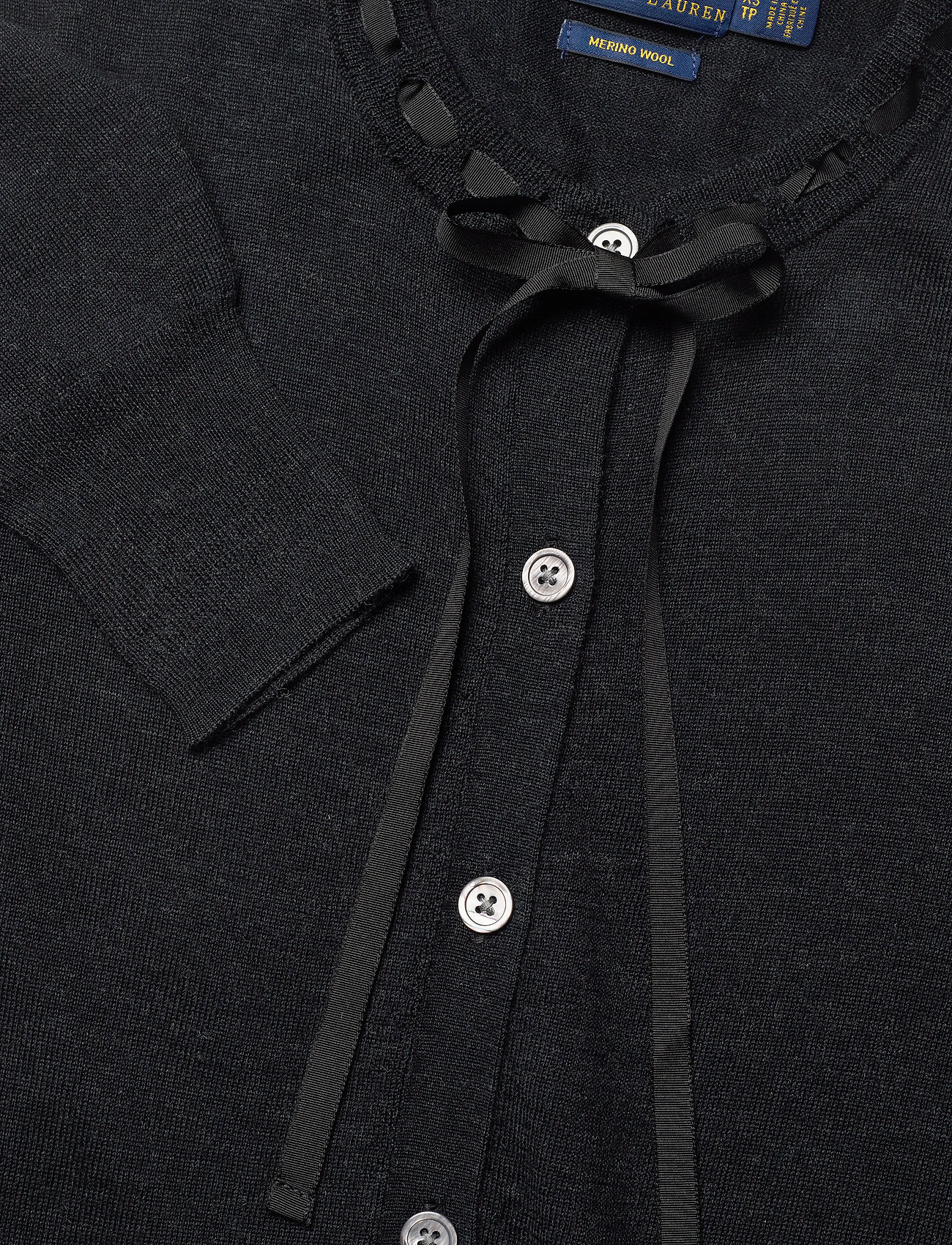 Silk Blend-lsl-swt (Charcoal Heather) (1109.40 kr) - Polo Ralph Lauren