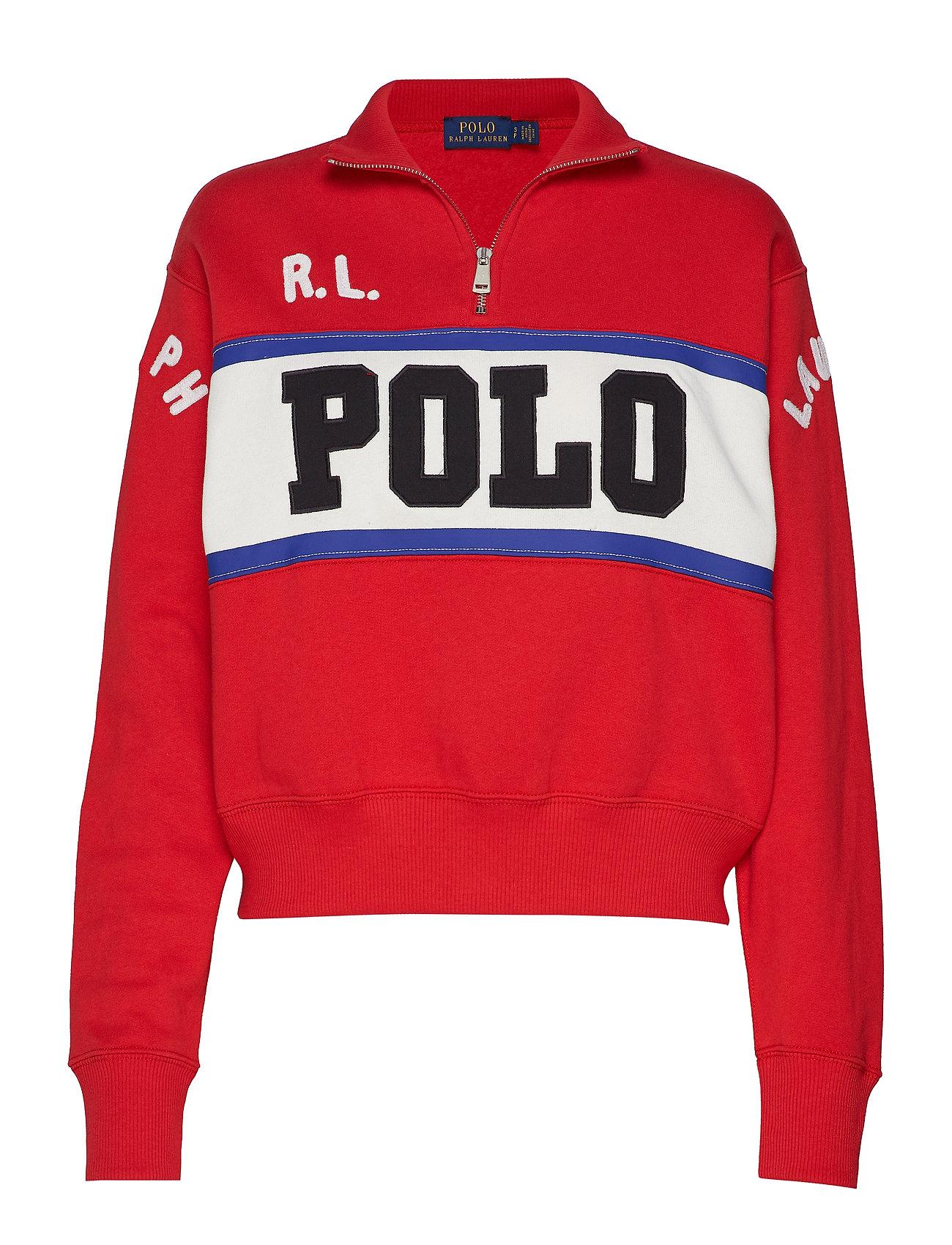 Polo Ralph Lauren Half-Zip Polo Fleece - CHARTER RED