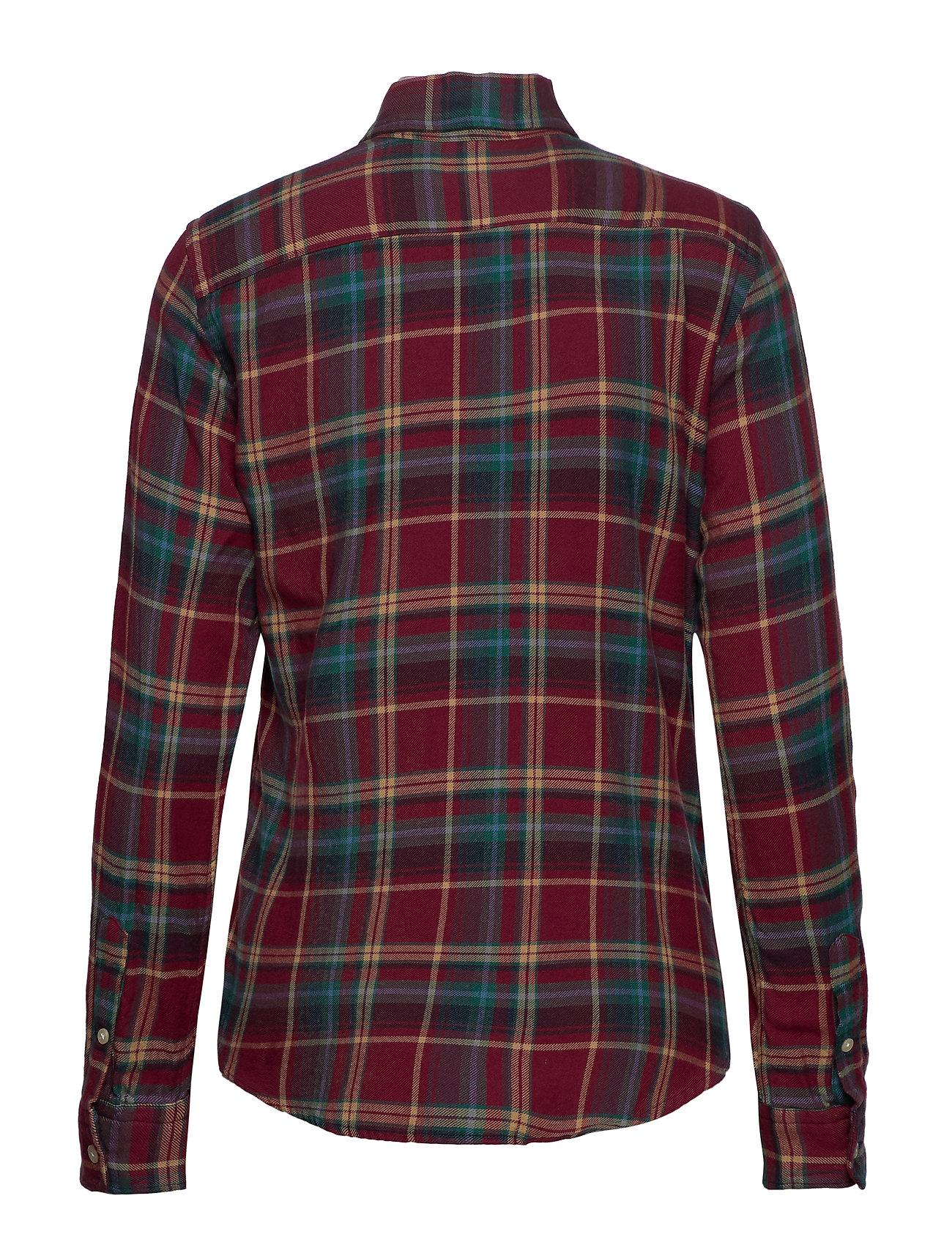 Cotton ShirtPolo Lauren Plaid Ralph Cotton Plaid trdsCBhQx