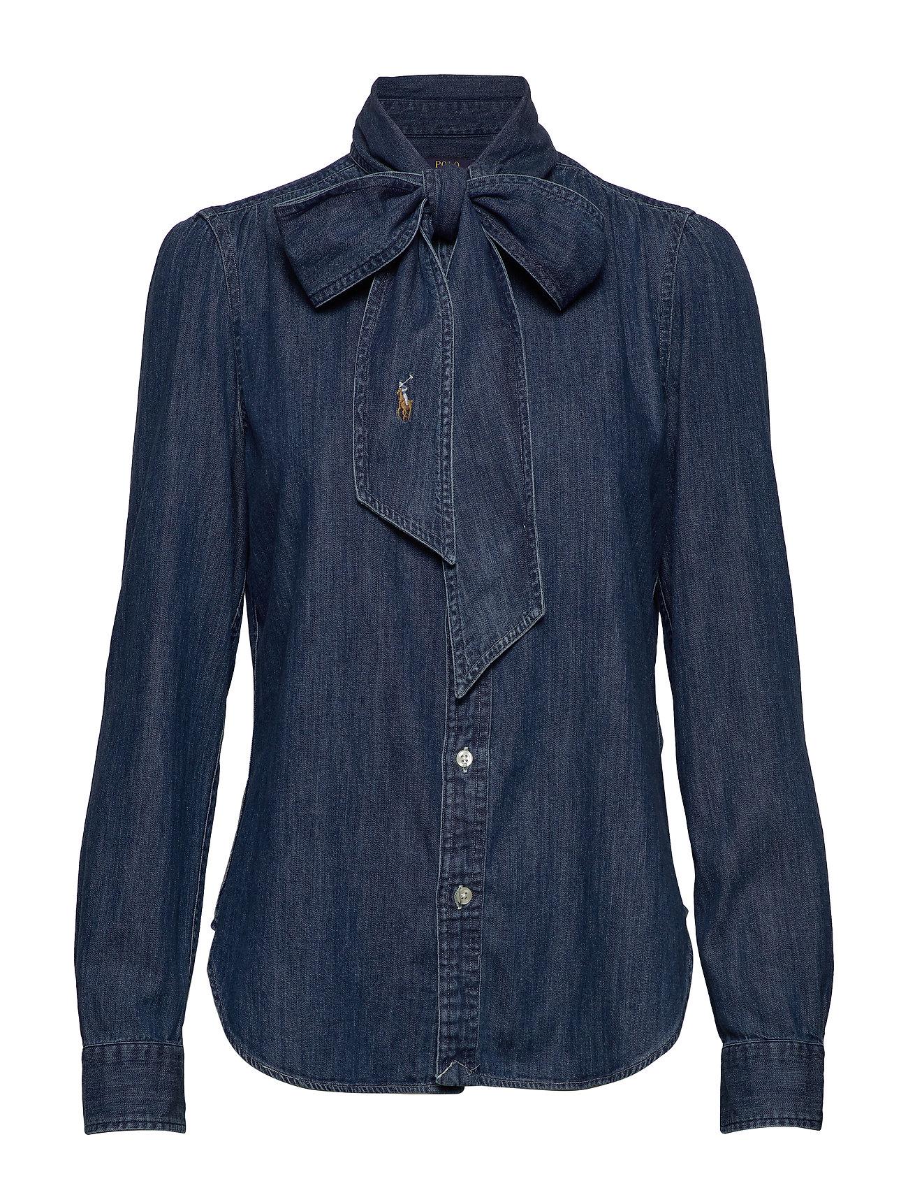 Polo Ralph Lauren Necktie Denim Shirt - BSR MEDIUM INDIGO