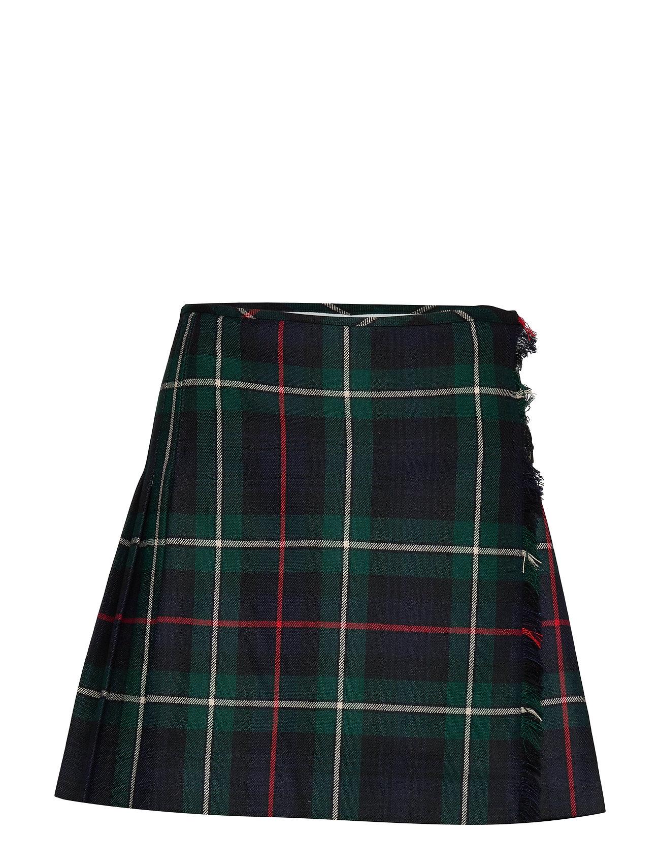 Polo Ralph Lauren Tartan Wool Miniskirt - STRLNG TART