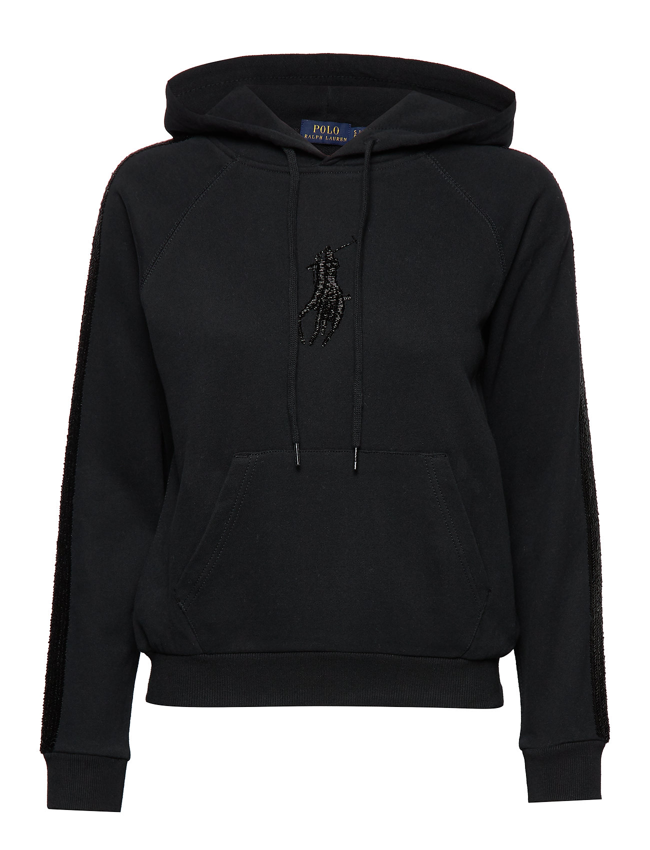 Polo Ralph Lauren BRUSHD LOOPBACK FLC-LSL-KNT - POLO BLACK