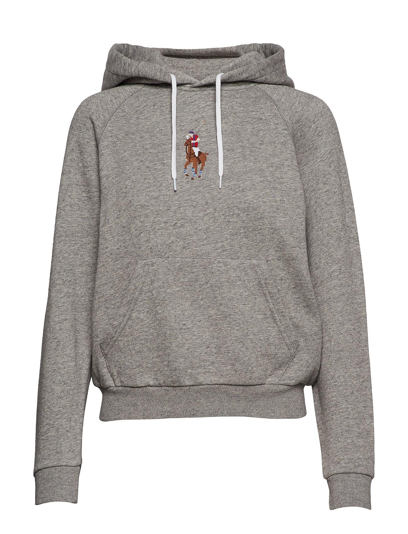 Polo Ralph Lauren Pony Fleece Hoodie - DARK VINTAGE HEAT