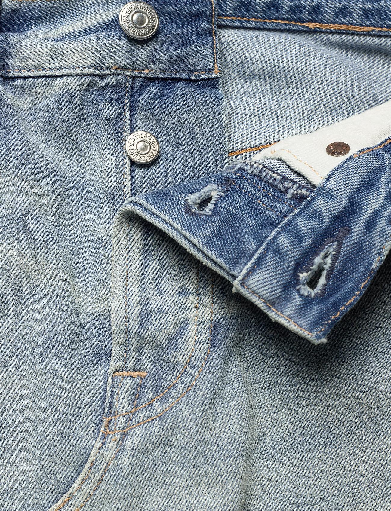 Polo Ralph Lauren Denim Skirt - Kjolar Light Indigo