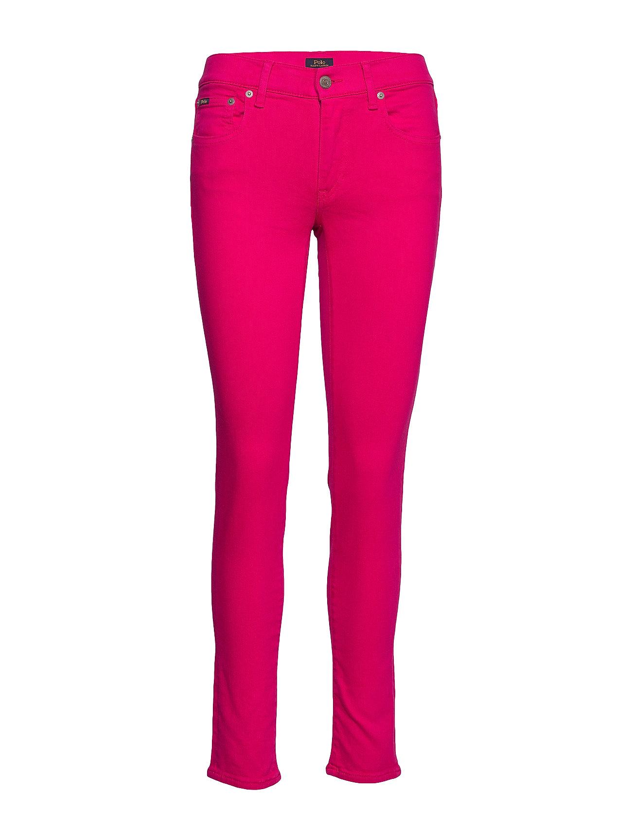 Polo Ralph Lauren Tompkins Stretch Skinny Jean - FUSCHIA