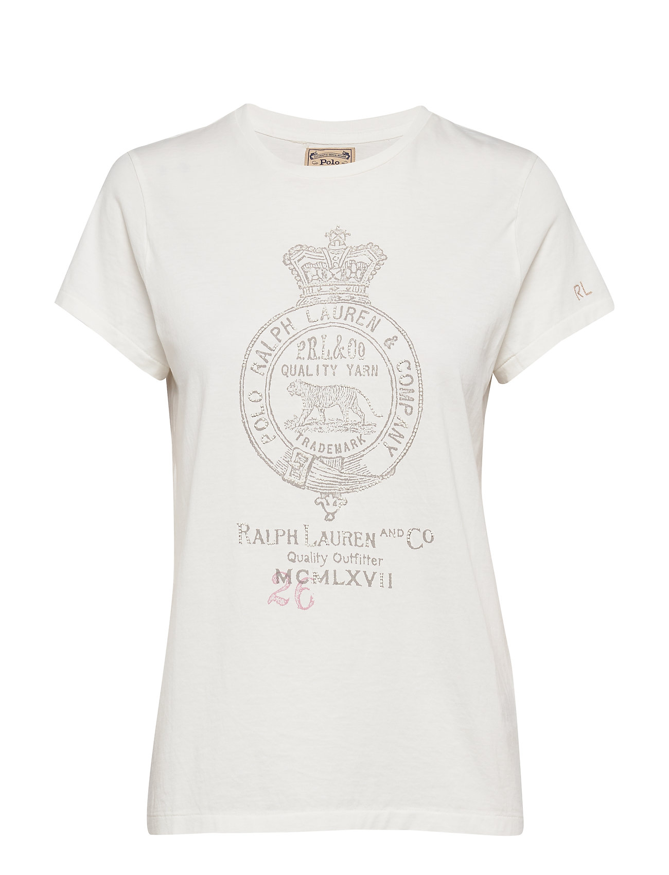 Polo Ralph Lauren Cotton Crest-Graphic Tee - NEVIS