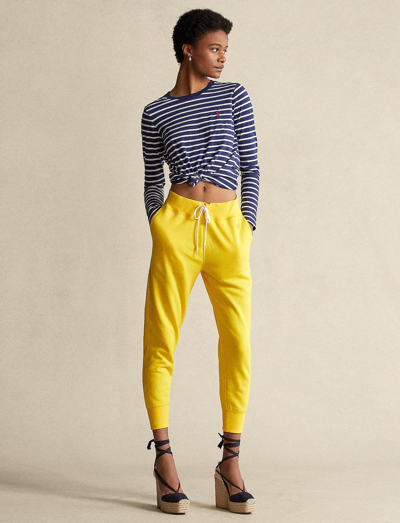 Polo Ralph Lauren - Fleece Sweatpant - sweatpants - university yellow - 0