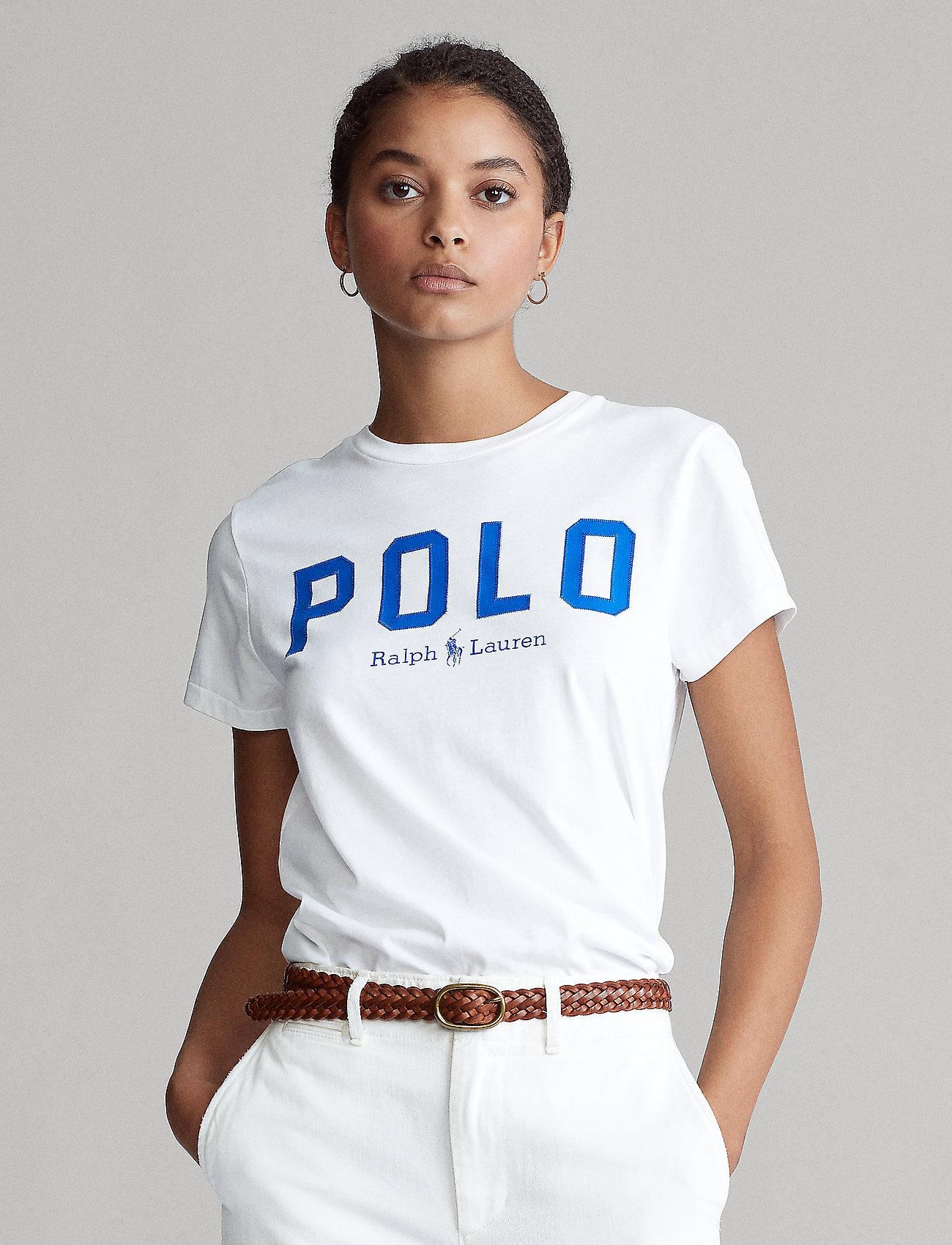 Polo Ralph Lauren - Polo Cotton Tee - t-shirts - white - 0